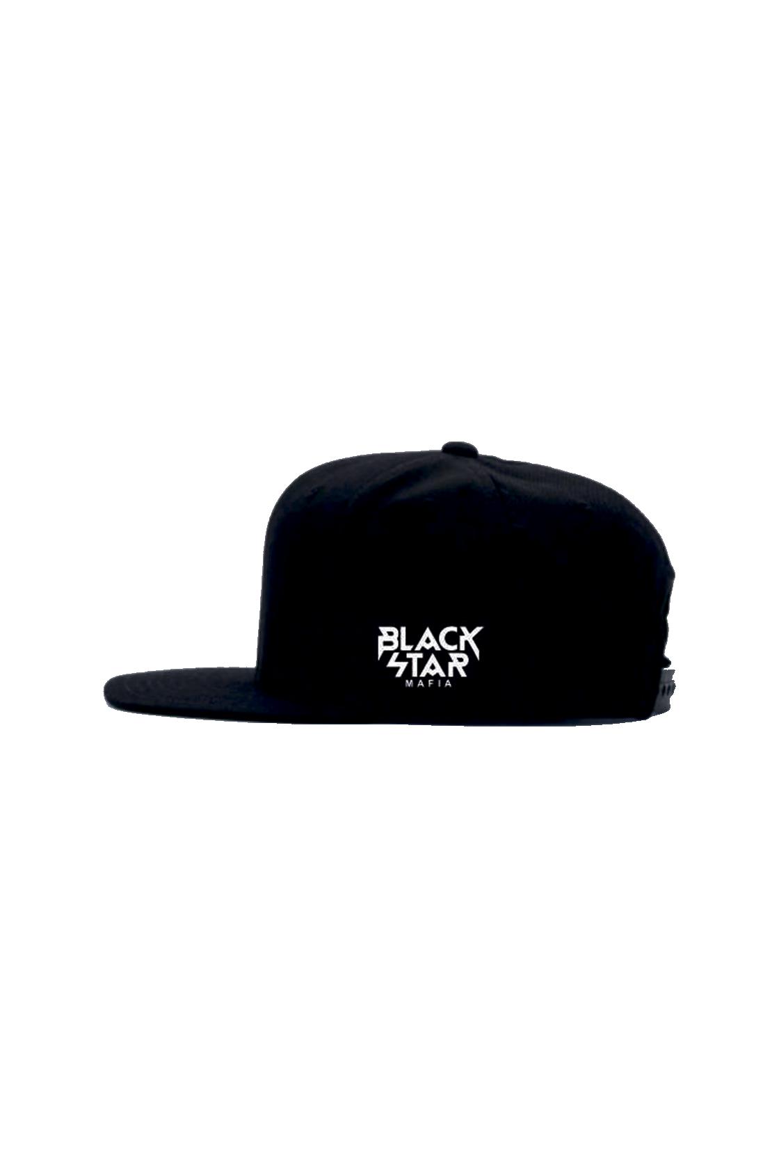 Бейсболка мужская Black Star MafiaSnapback с вышивкой M Mafia на лицевой части и Black Star Mafia сбоку. Изначально Snapback был разработан под большой  концерт в Крокус Сити Холл, лимитированной партией, специально для  Тимати и его команды из 20 человек.<br><br>Размер: Единый размер<br>Цвет: Черный<br>Пол: Унисекс