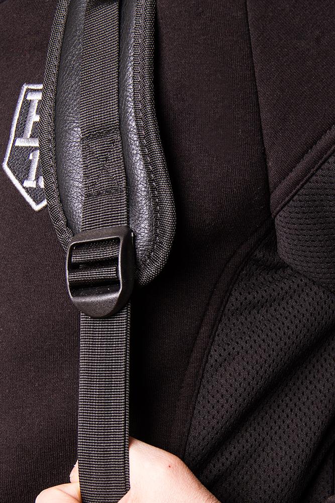 Рюкзак унисекс PU Logo BS от Black Star