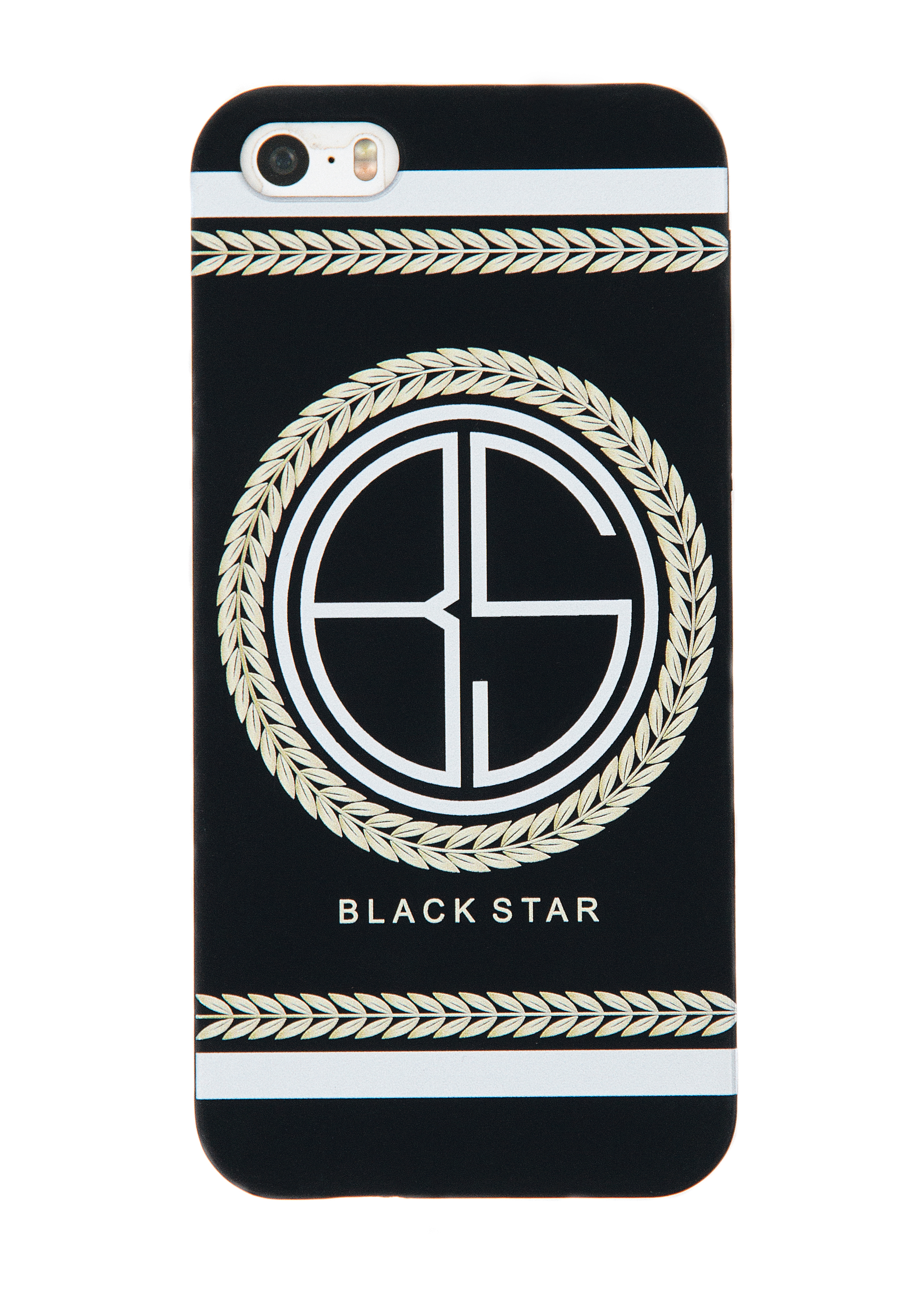 Чехол для iPhone 5/5s/6/6+ Wreath Logo от Black Star