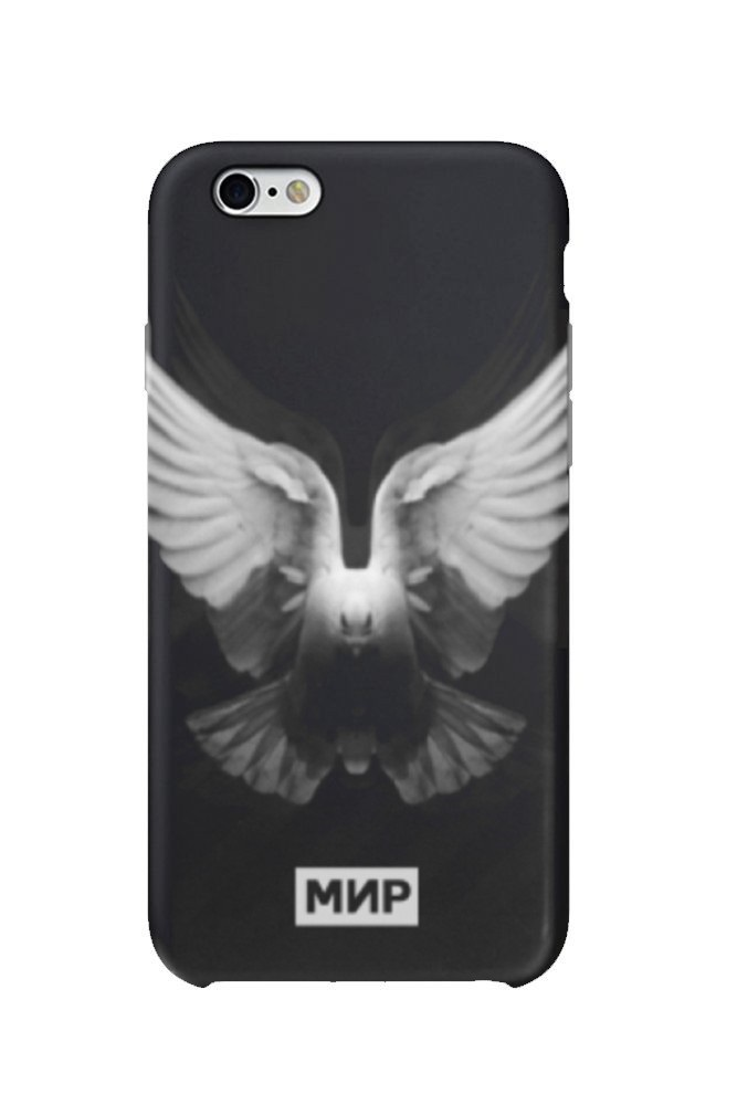 Чехол для iPhone 5/6/6+ Bird