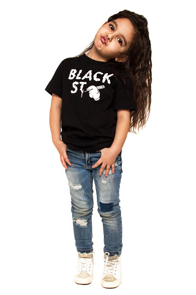 Футболка детская BS Font от Black Star