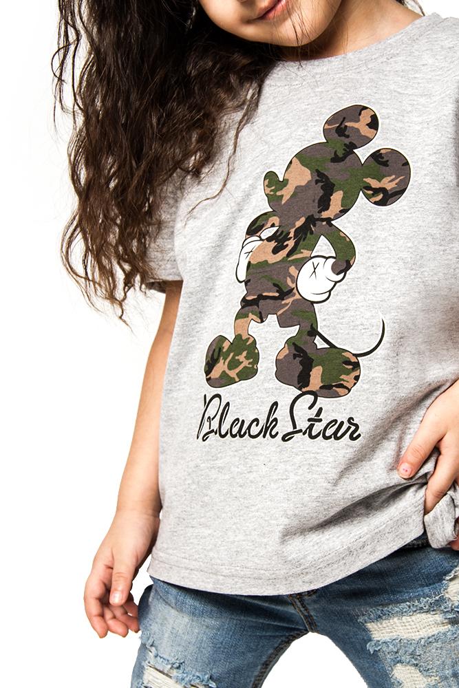Футболка детская Camo Mickey от Black Star