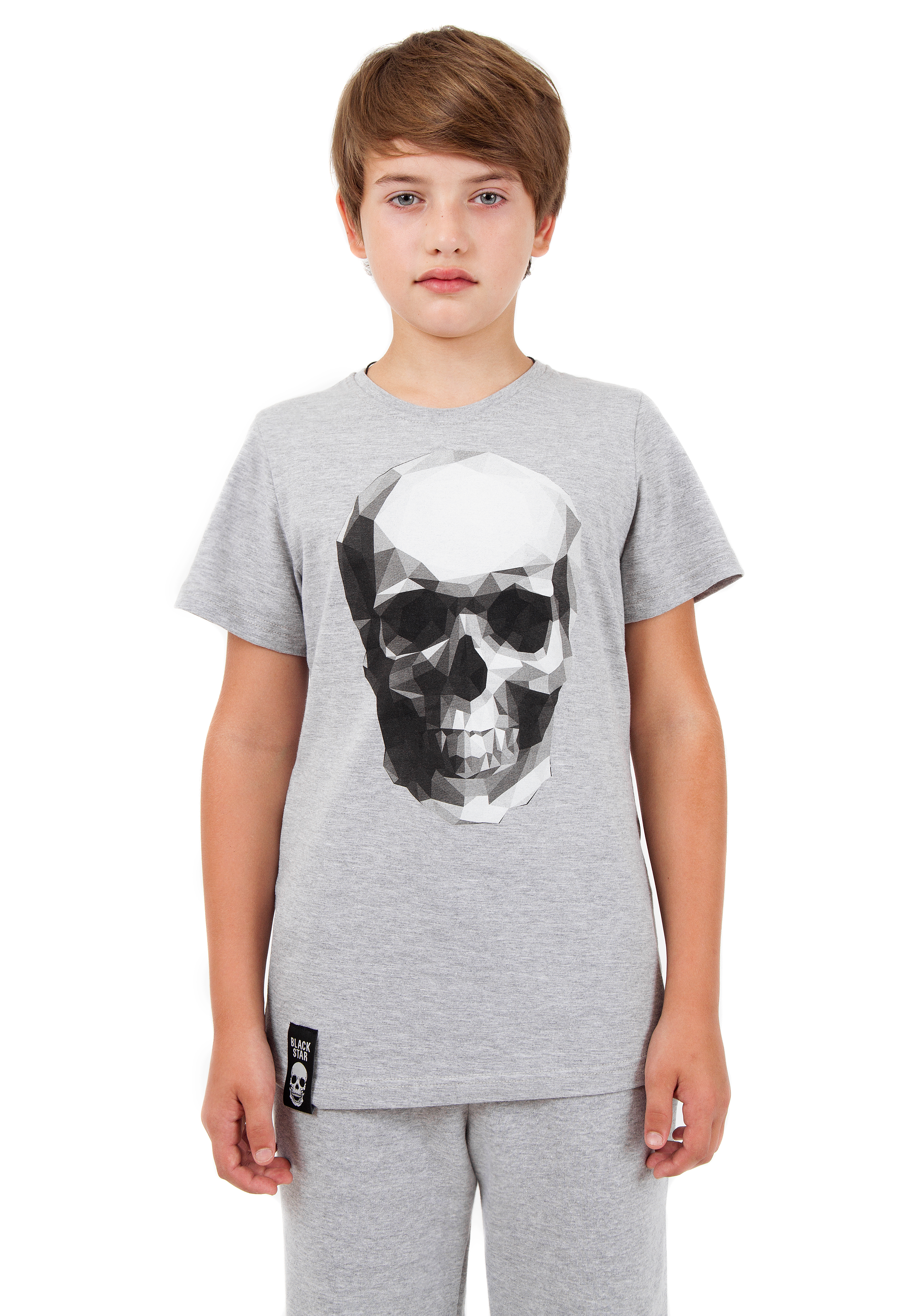 Футболка подростковая Skull