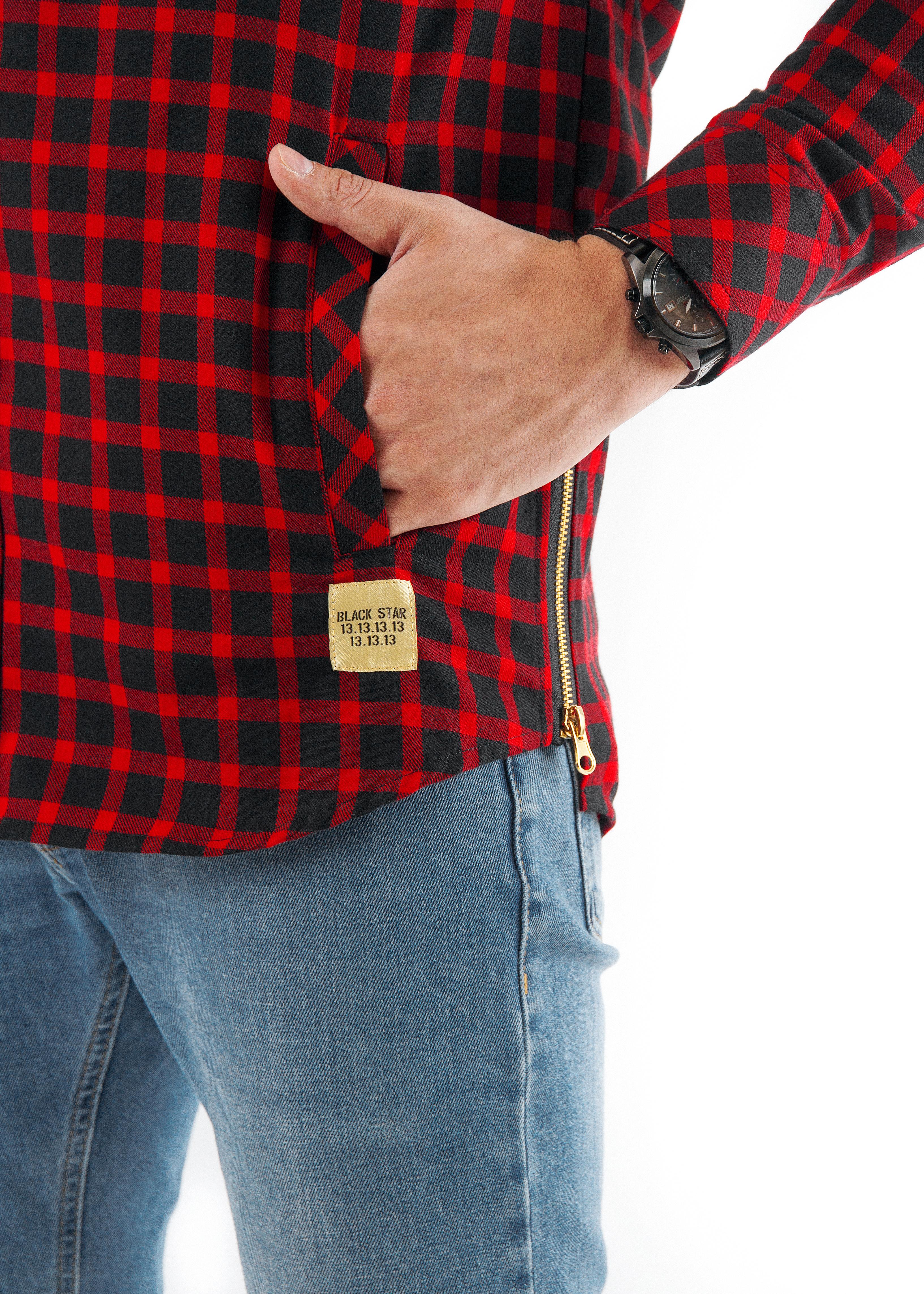 Рубашка мужская Checked 13 от Black Star
