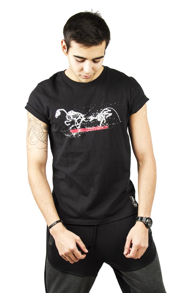 Футболка мужская Running Animals от Black Star