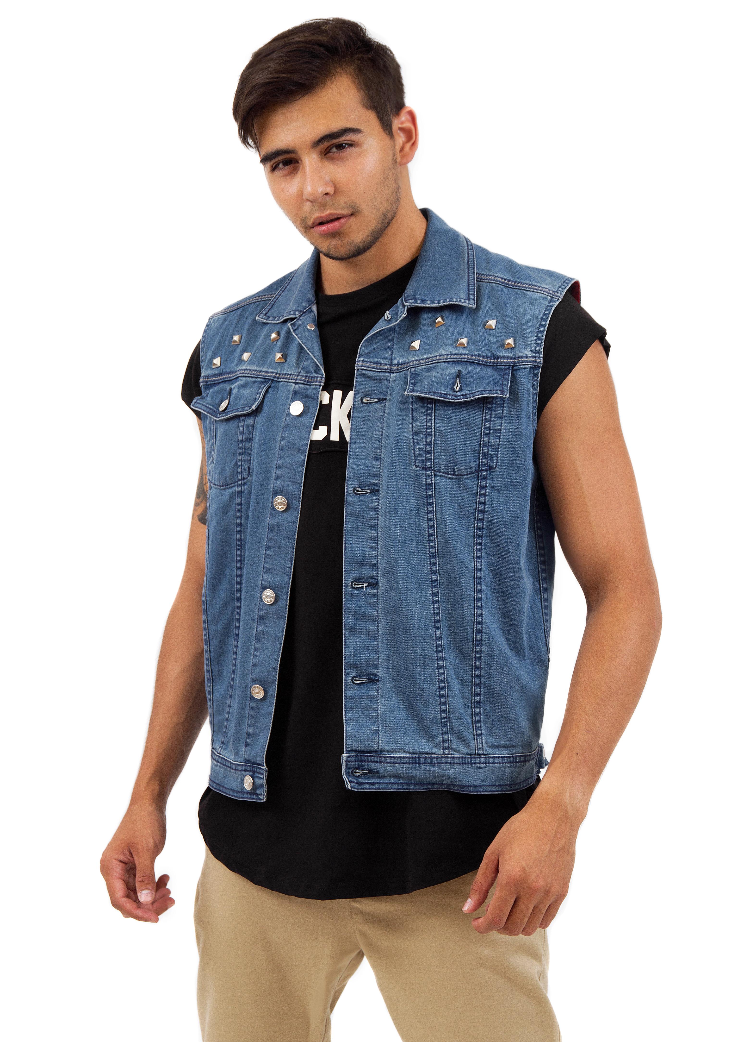 Жилет мужской джинсовый от Black Star Wear