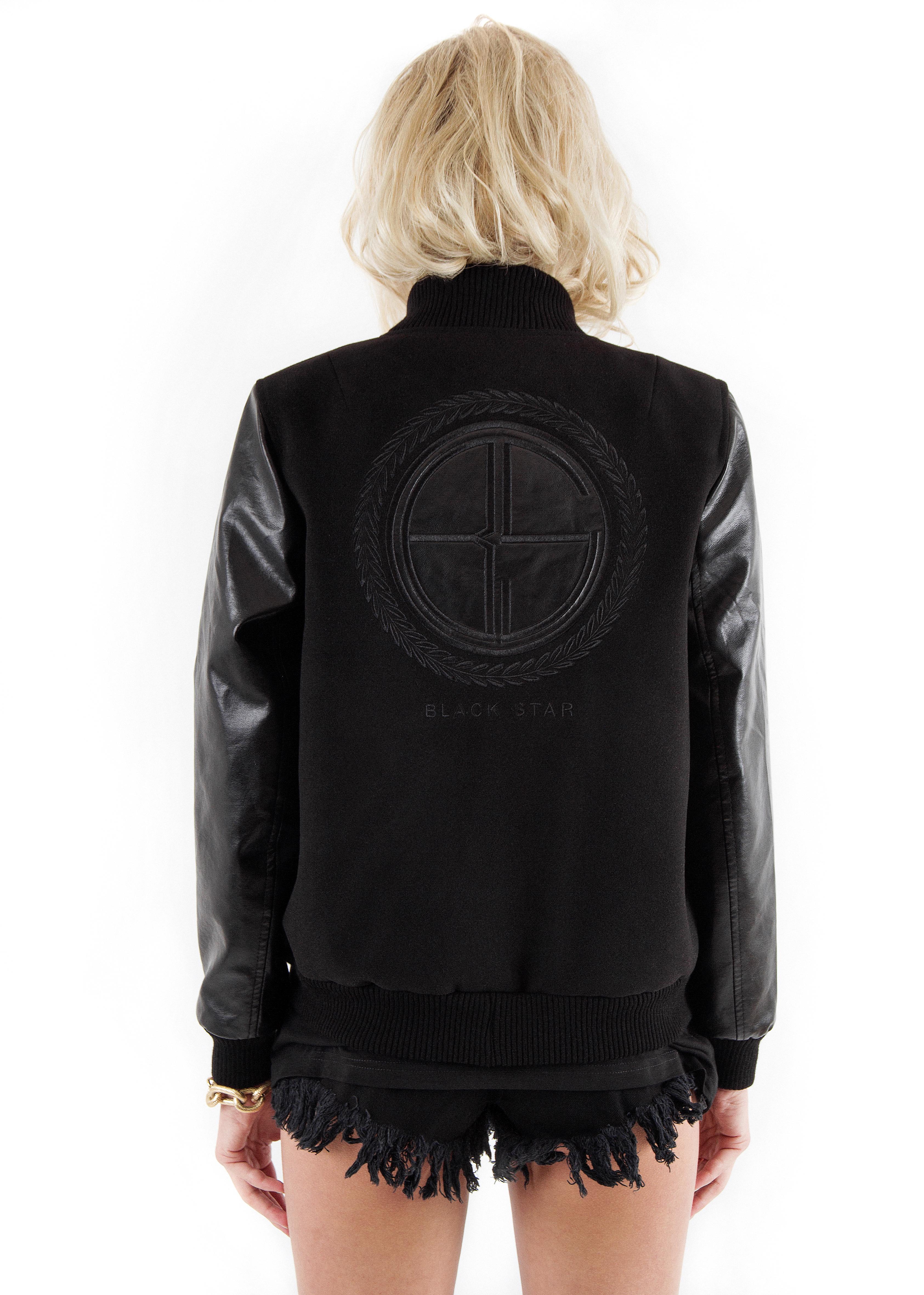 Куртка женская Wreath Logo Black от Black Star