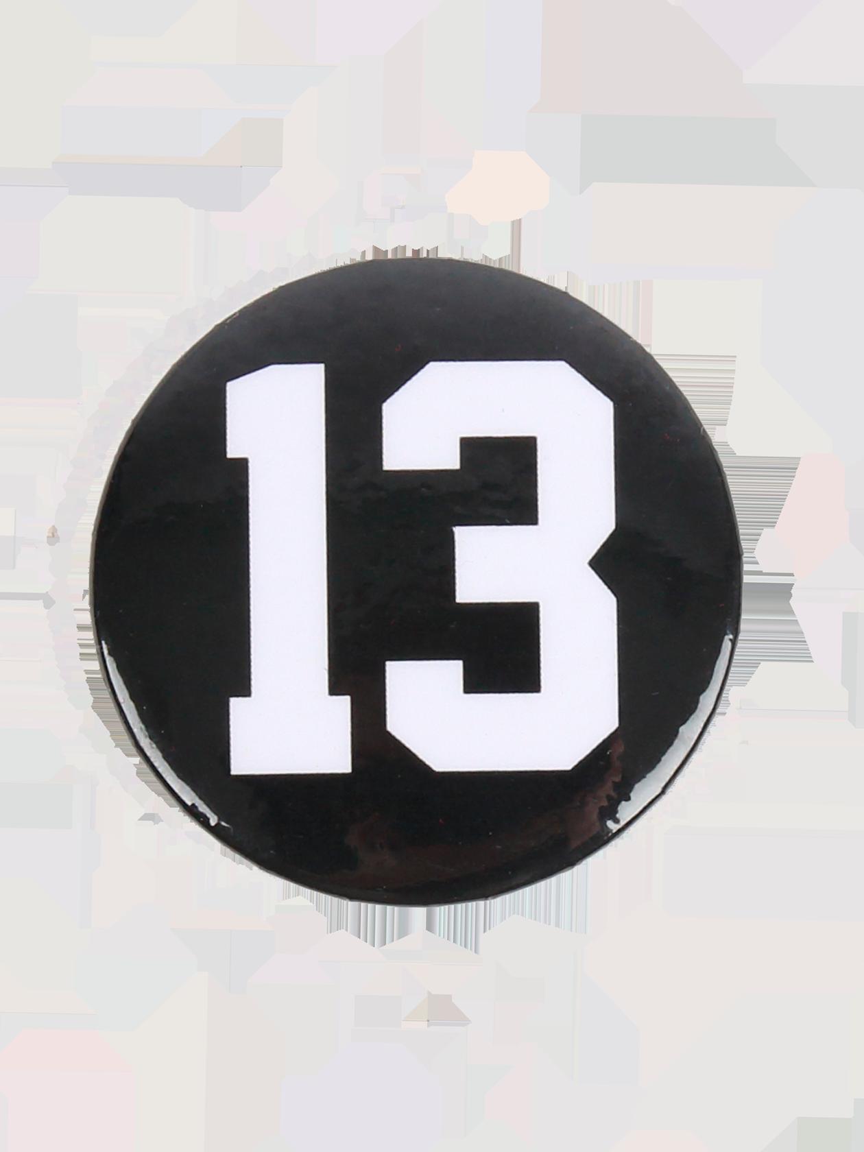 Значок 13 от Black Star