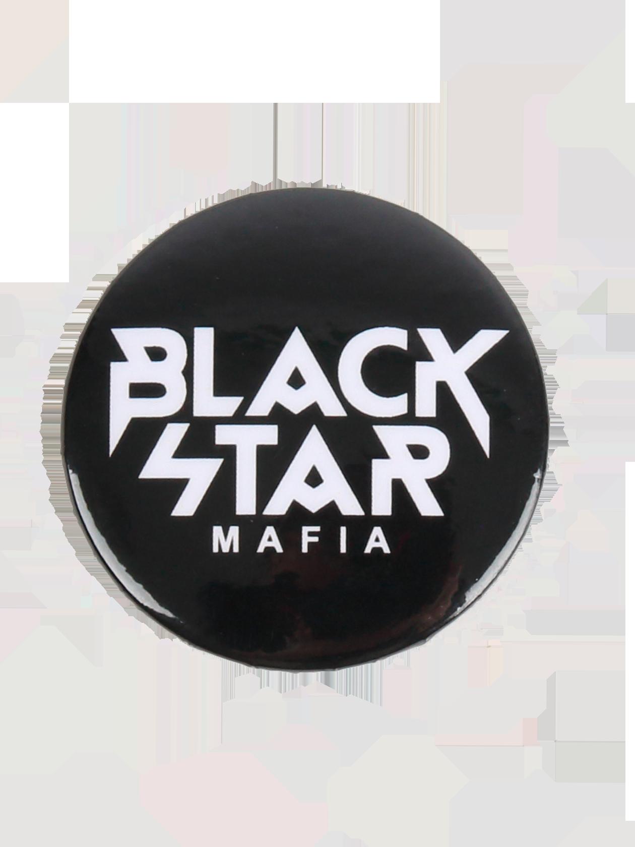 Значок BLACK STAR MAFIAФирменный значок Black Star Mafia. Диаметр 38мм. Застёжка - английская булавка, которая позволяет закрепить аксессуар на сумке, рюкзаке или одежде. Значки отлично сочетаются между собой - комбинируй их, чтобы найти своё уникальное сочетание, ведь стиль в деталях!<br><br>Размер: Единый размер<br>Цвет: Черный<br>Пол: Унисекс