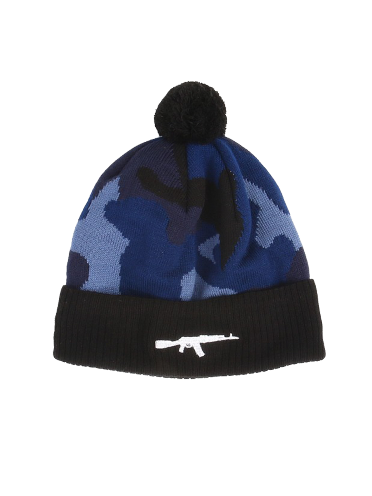 Unisex hat Blue Camo Rifle