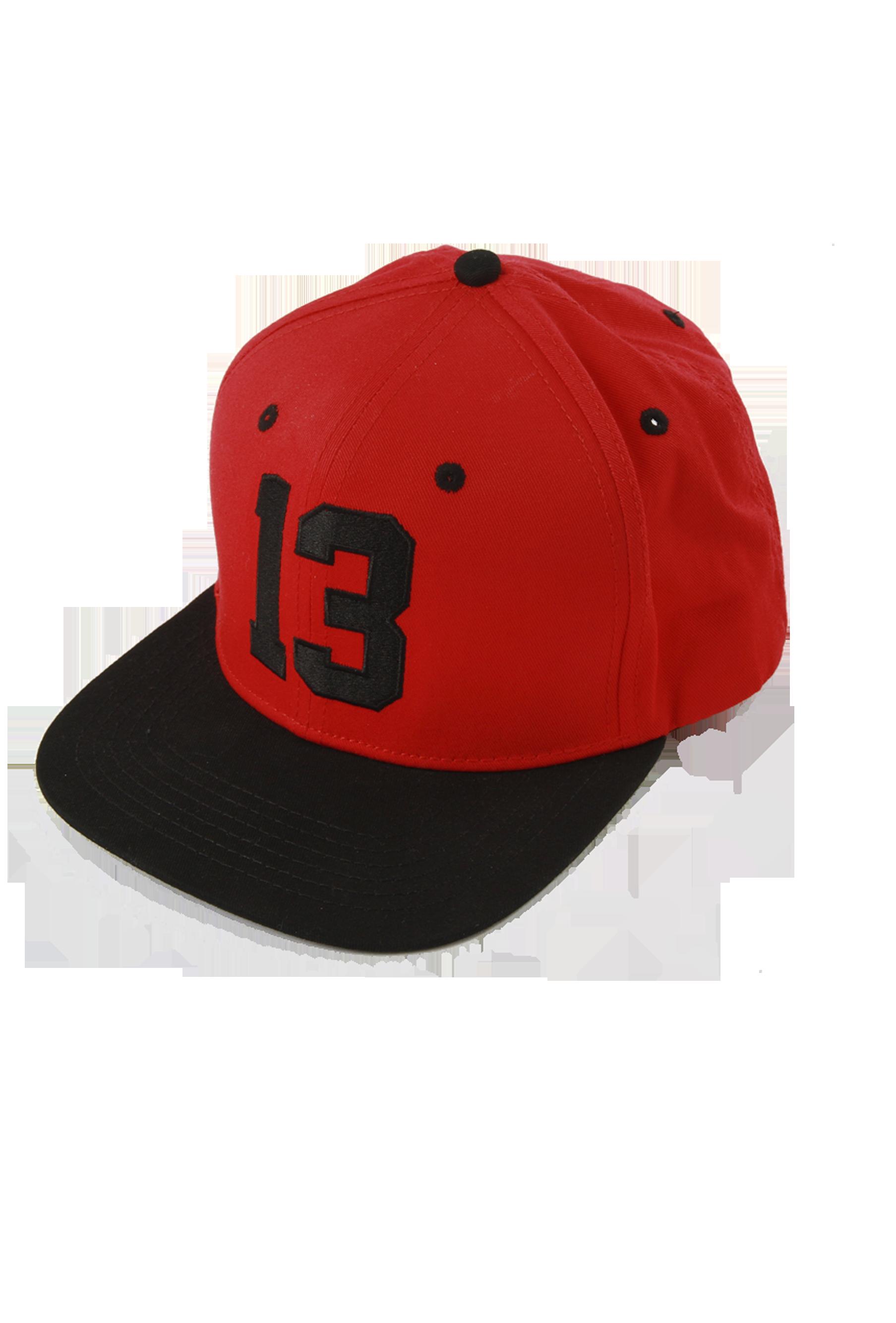 Снэпбэк унисекс 13Снепбэк унисекс от Black Star Wear. Минималистичный дизайн, лаконичность кроя и сдержанные расцветки позволяют сочетать этот головной убор с любой одеждой. Спереди модель декорирована вышивкой с цифрой 13, сзади название бренда и пластиковая застёжка, регулирующая размер. Аксессуар доступен в трёх цветах: чёрном, чёрно-белом и чёрно-красном.<br><br>Размер: Единый размер<br>Цвет: Красный<br>Пол: Унисекс