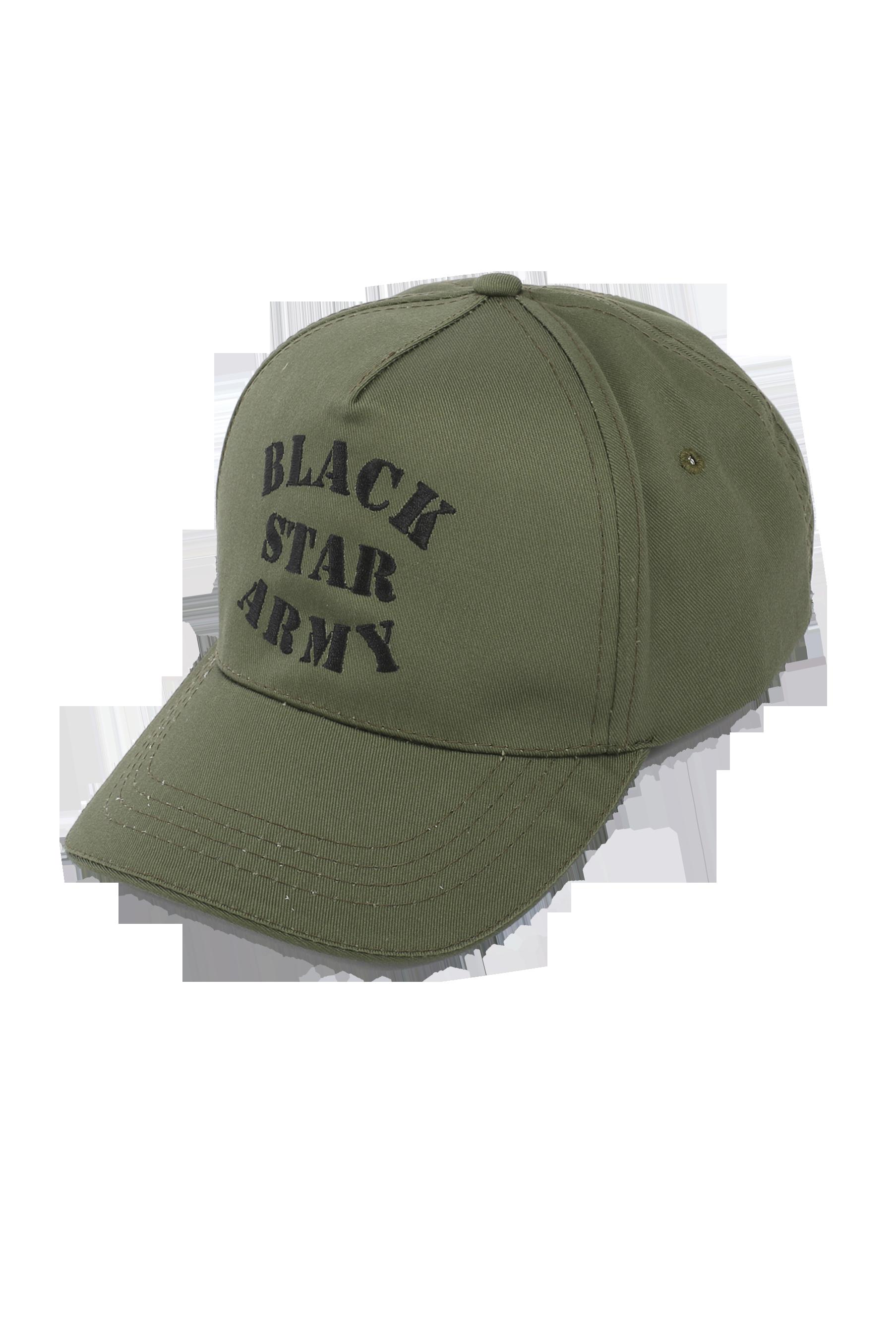 Кепка унисекс Black Star ArmyКлассическая модель бейсболки из коллекции Black Star Wear. Модель с чёрной вышивкой Black Star Army. Сзади застёжка, регулирующая размер. Доступна в расцветке хаки. Унисекс.<br><br>Размер: Единый размер<br>Цвет: Хаки<br>Пол: Унисекс