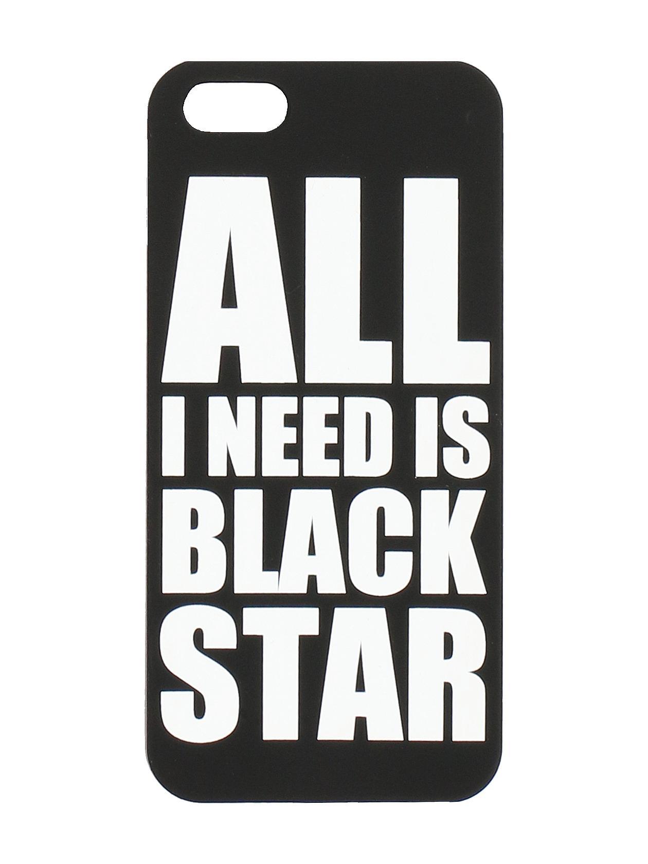 Чехол для iPhone 5/6/6+ All I Need Is Black Star