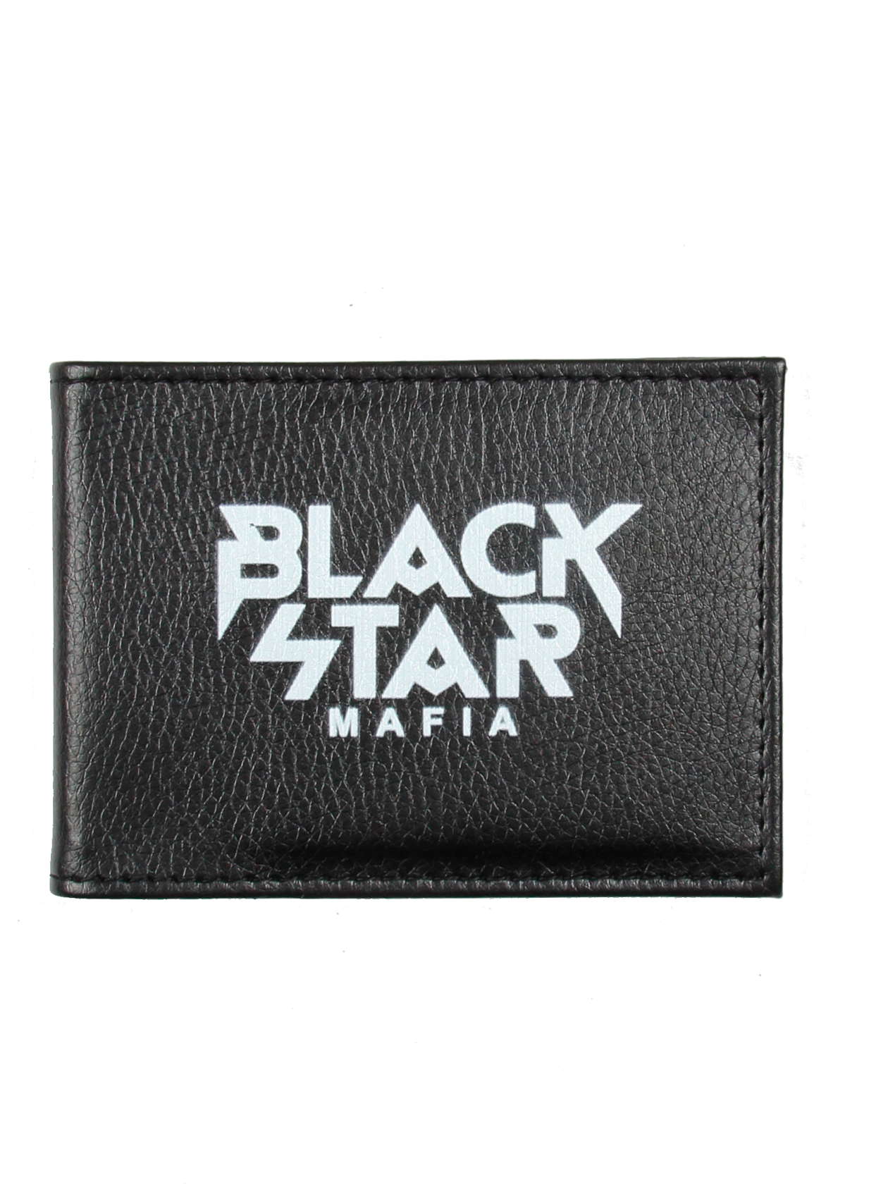 Students ID cover MAFIAStudents ID cover by Black Star Wear. Textured black eco-leather with white Black Star Mafia logo on the front.<br><br>size: One size<br>color: Black<br>gender: unisex