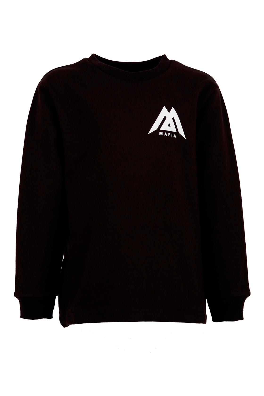 Kids long sleeve t-shirt Black Star Mafia 2.0