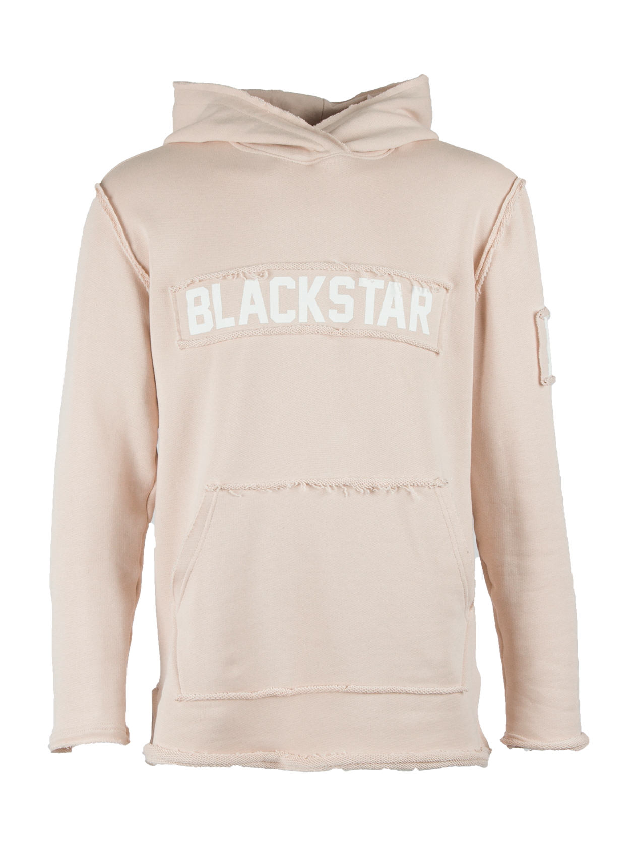 Mens hoodie BS HoodMens hoodie by Black Star Wear. Straight fit, raw cuts and seams, big hood and front pocket. Natural and soft cotton material. Patch Blackstar on the chest and 13 on the left sleeve. Avaliable in khaki.<br><br>size: S<br>color: Beige<br>gender: male