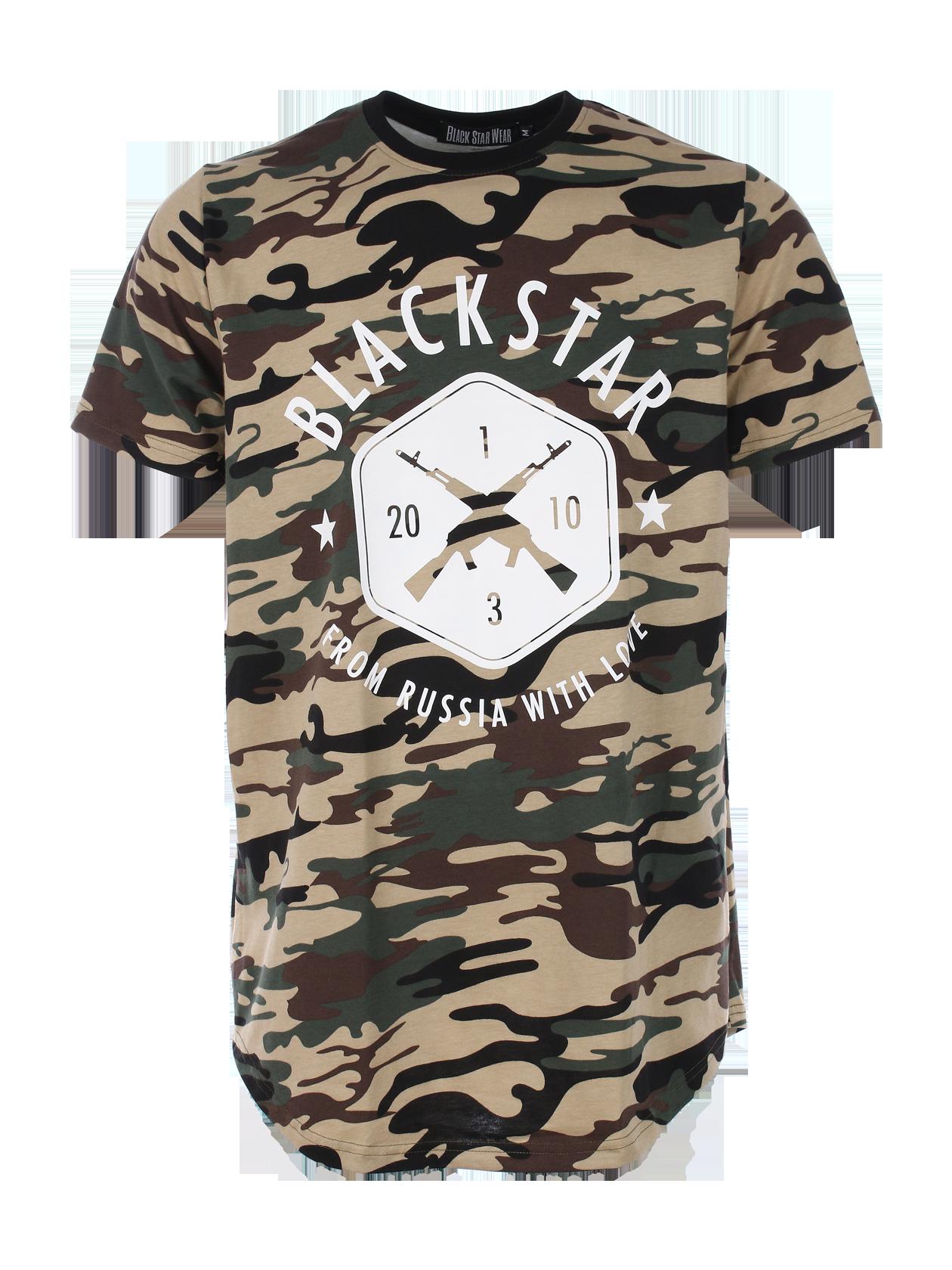 Футболка мужская BLACK + STAR CAMO от Black Star Wear