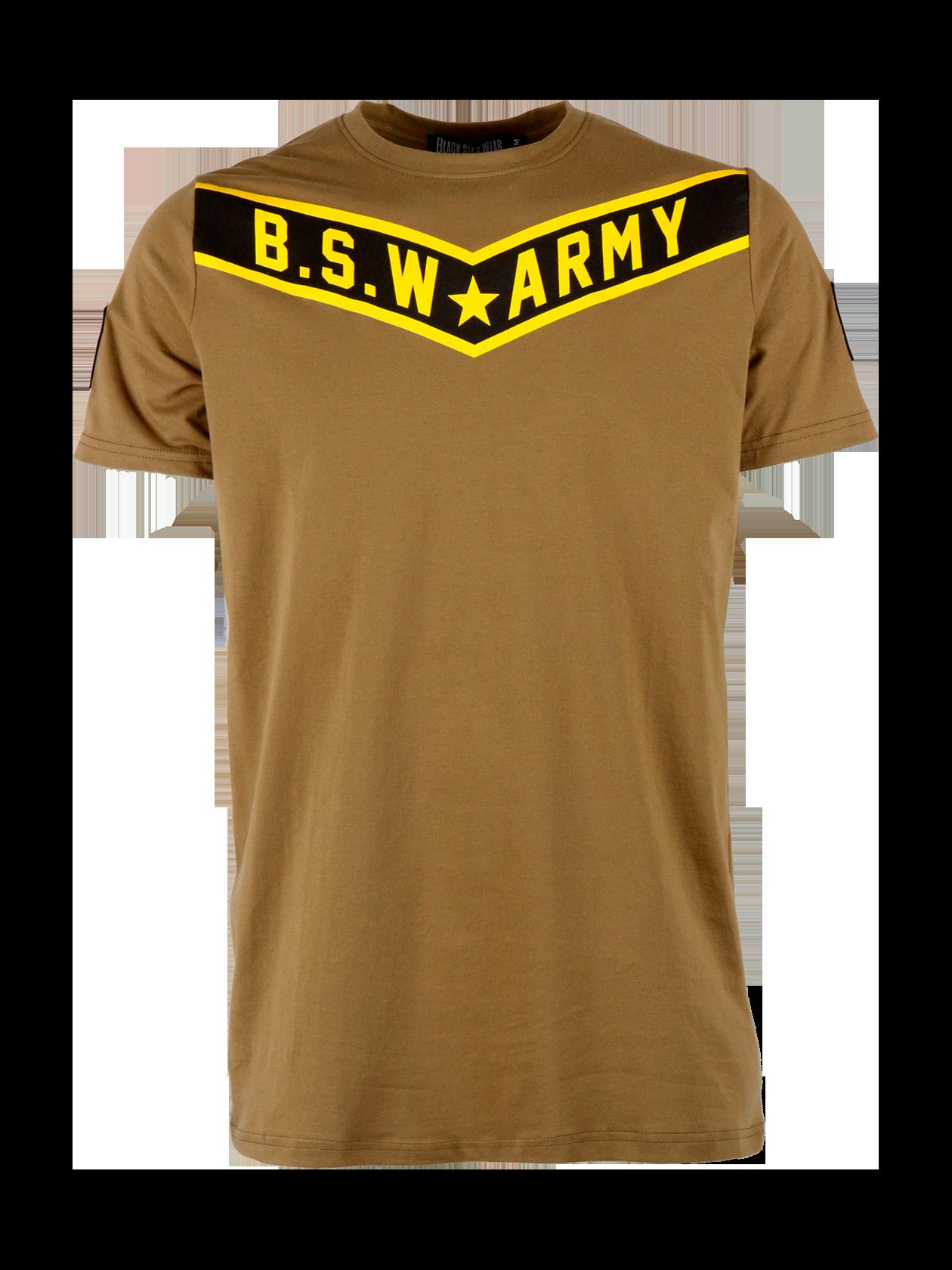 Mens t-shirt B.S.W. Army