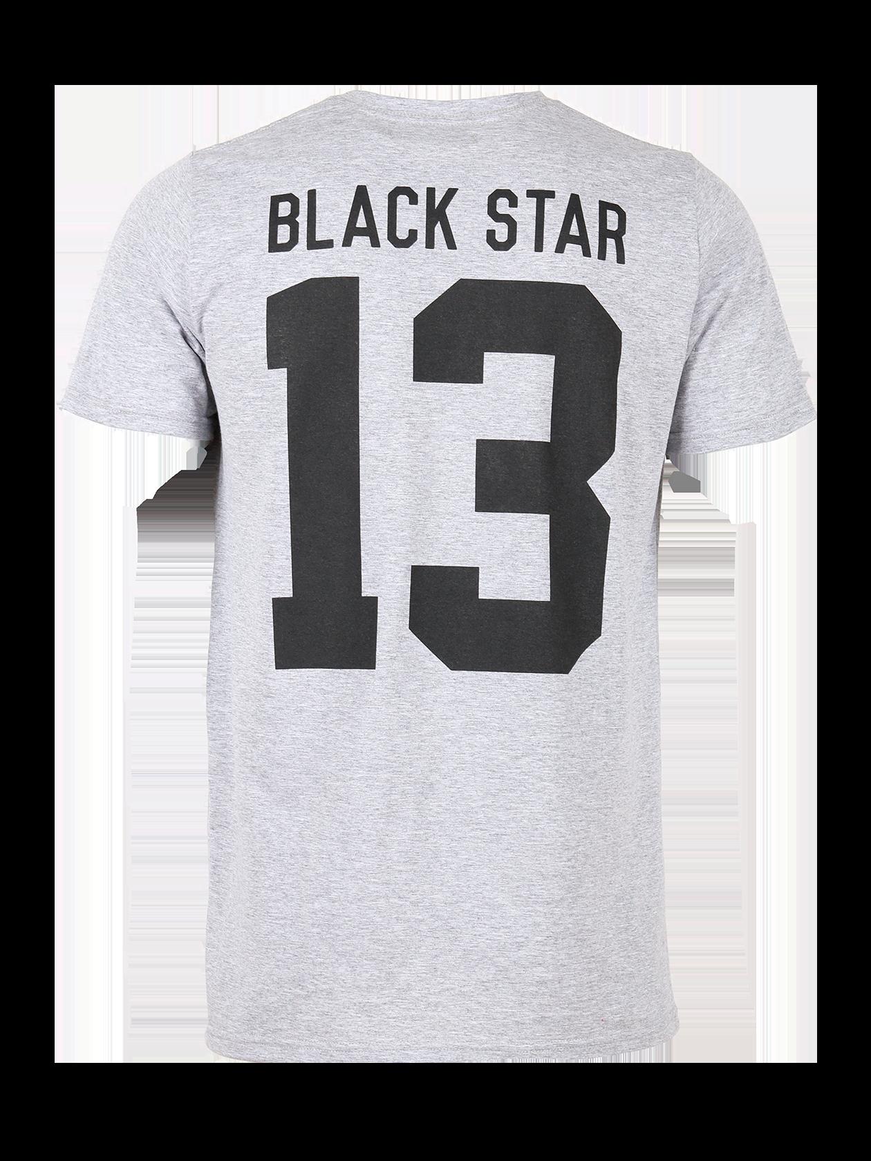 Фото - Футболку унисекс Anchor от Black Star Wear серого цвета