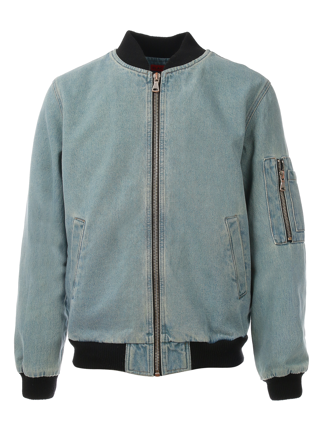 Unisex jeans bomber 13, Blue