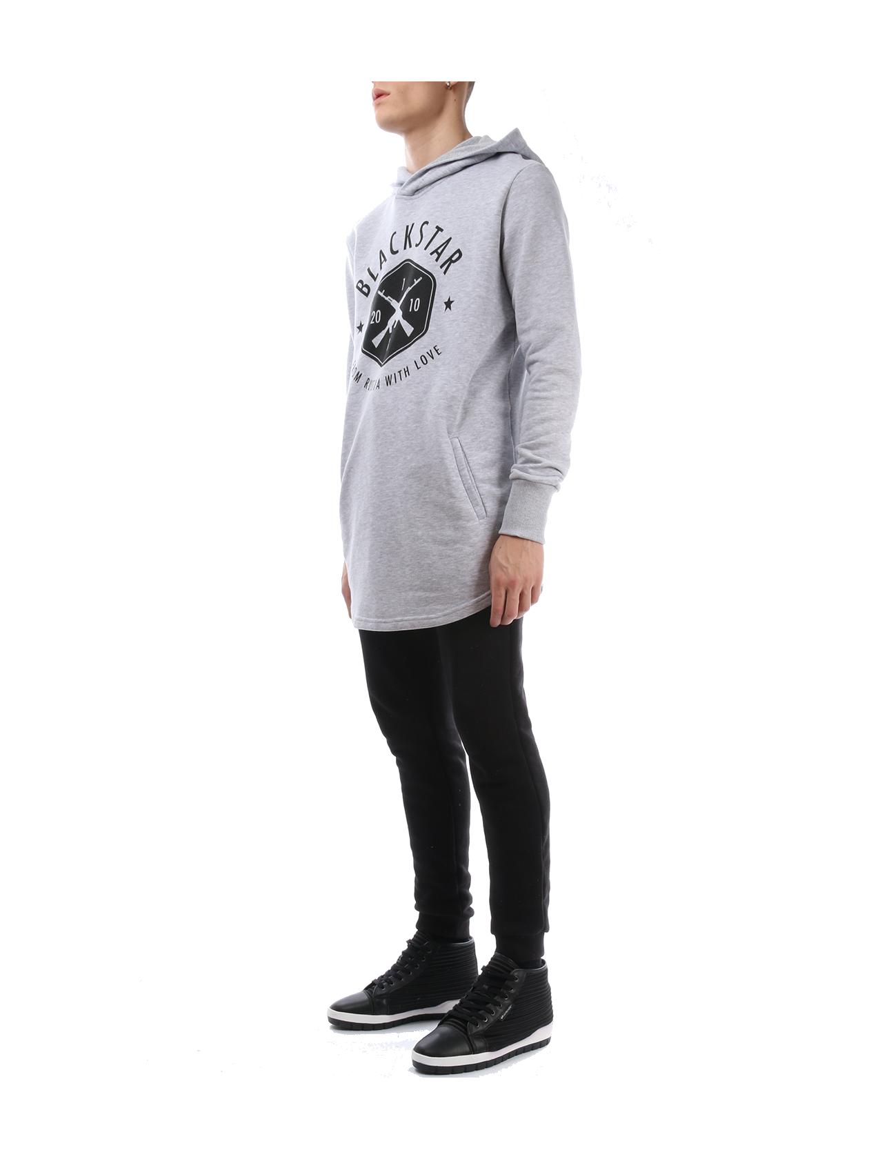 Mens hoodie BLACK + STAR от BlackStarWear INT
