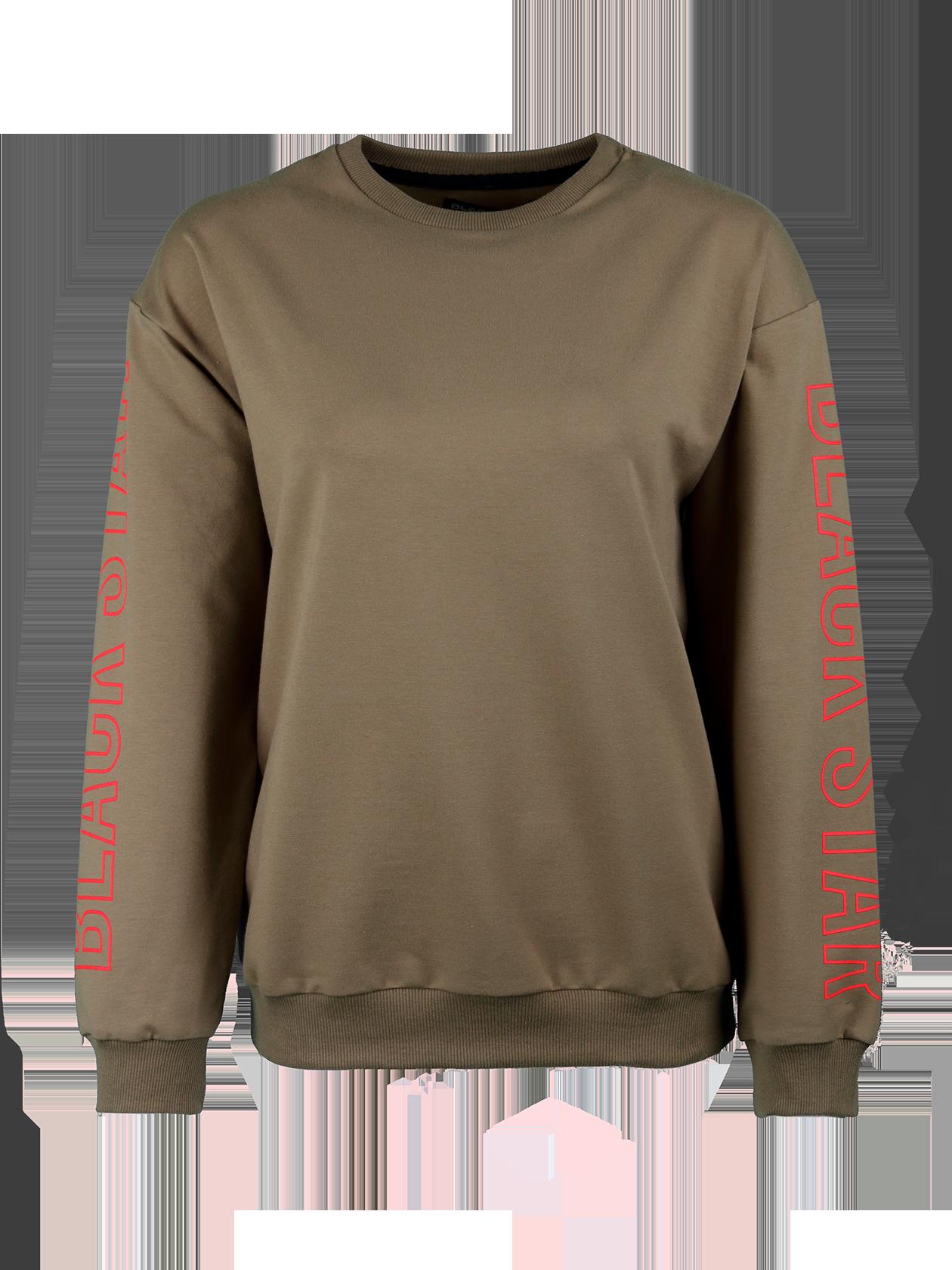 Womens sweatshirt Outline