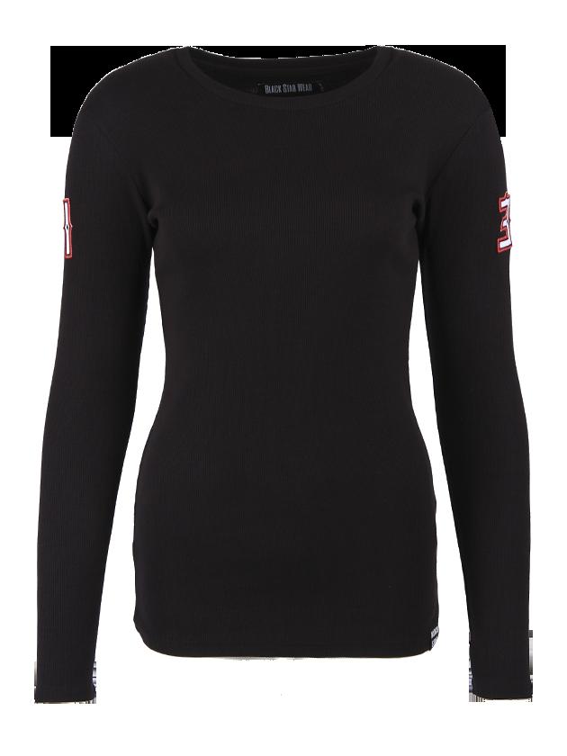 Womens long sleeve t-shirt Silhouette от BlackStarWear INT