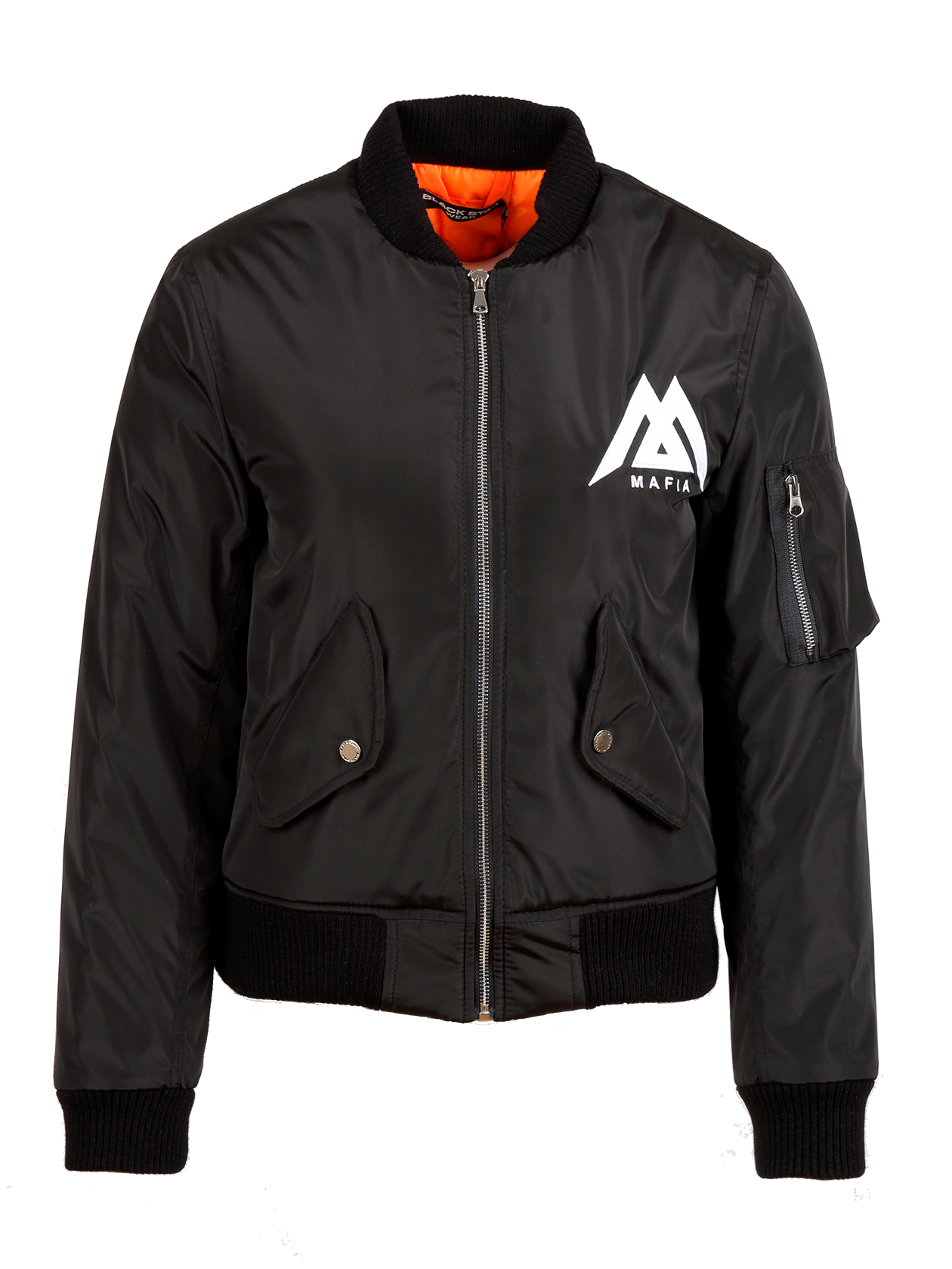 Куртка-бомбер женская Black Star Mafia от Black Star Wear