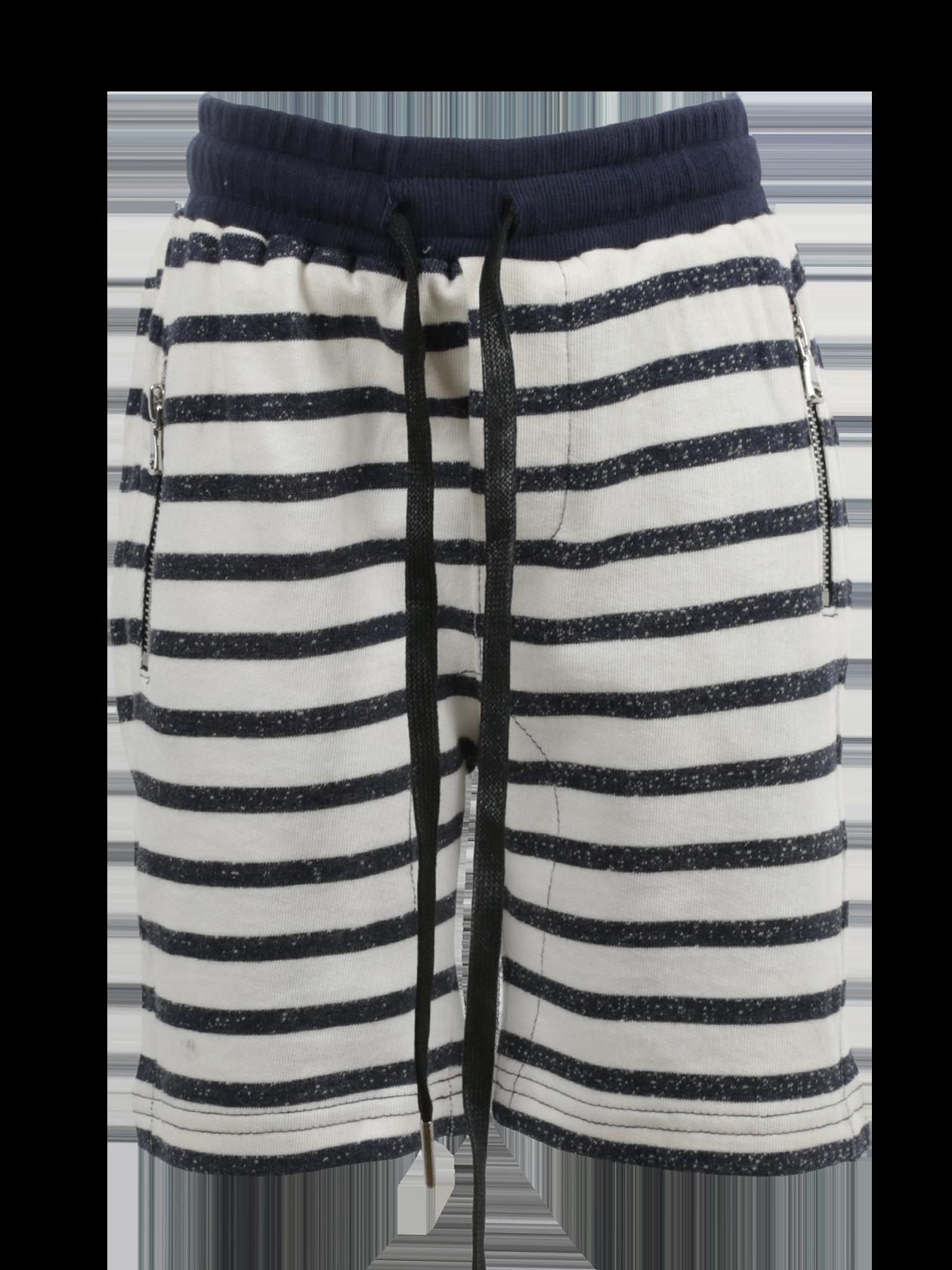 Шорты детские STRIPS KIDSШорты детские Strips Kids от бренда Black Star Wear – отличное дополнение гардероба активного ребенка. Модель традиционного прямого кроя, свободного силуэта, длиной чуть выше колена. Универсальная полосатая расцветка позволит комбинировать вещь с любой одеждой и обувью. Для удобной посадки изделия на поясе оформлена широкая резинка с завязками. Внутренние боковые карманы дополнены застежкой на молнии. Материал изготовления детских шорт – элитный натуральный хлопок, обеспечивающий максимальный комфорт при движении.<br><br>Размер: 7 years<br>Цвет: Синий/Белый<br>Пол: Унисекс
