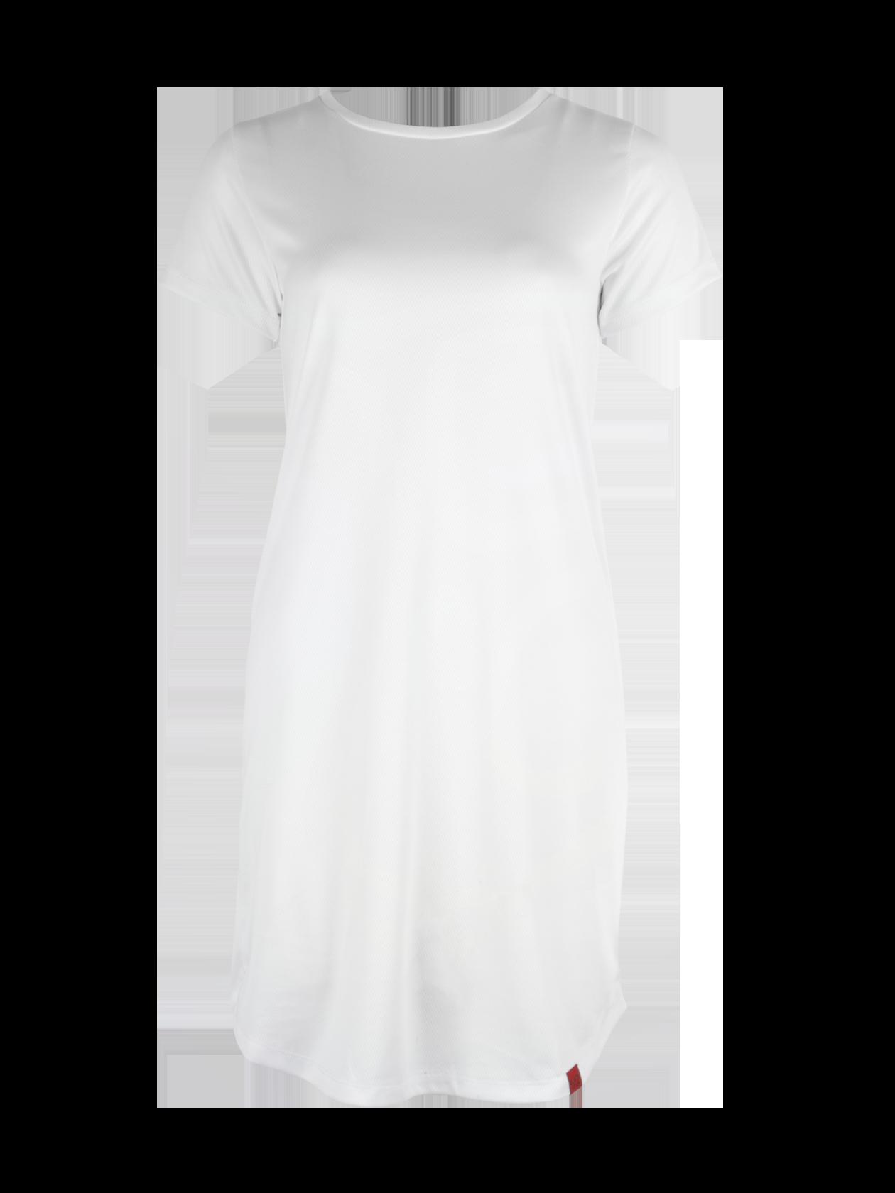 Платье женское MERMAIDПлатье женское Mermaid – оригинальная вещь от популярного бренда Black Star. Модель прямого свободного кроя с округленной формой низа и небольшим рукавом. Неглубокая горловина содержит эмблему с логотипом BSW на внутренней стороне. Изделие выполнено полностью из перфорированного материала высокого качества, представлено в черной расцветке. Внутри имеется подкладка, открывающая рукава и нижнюю часть платья. Идеально подходит для создания стиля на каждый день, комбинируется с любой обувью.<br><br>Размер: M<br>Цвет: Белый<br>Пол: Женский