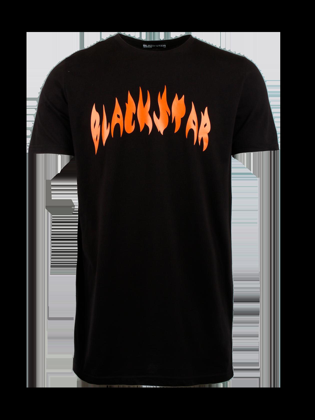 Футболка мужская FIRE FLAMEСтильная футболка мужская Fire Flame из уникальной коллекции Orange Flame для ярких и активных молодых людей. Модель выполнена в традиционной черной расцветке, дополнена «огненной» надписью Black Star с фронтальной стороны. Дизайн модели воплощает в себе энергию, силу, свойственную современным людям. Крой изделия прямой, удлиненный, рукав свободный короткий, узкая эластичная горловина. Особенностью футболки является материал – натуральный хлопок, изготовленный по секретной технологии. За счет этого вещь обладает практичностью, долго носится.<br><br>Размер: XL<br>Цвет: Черный<br>Пол: Мужской