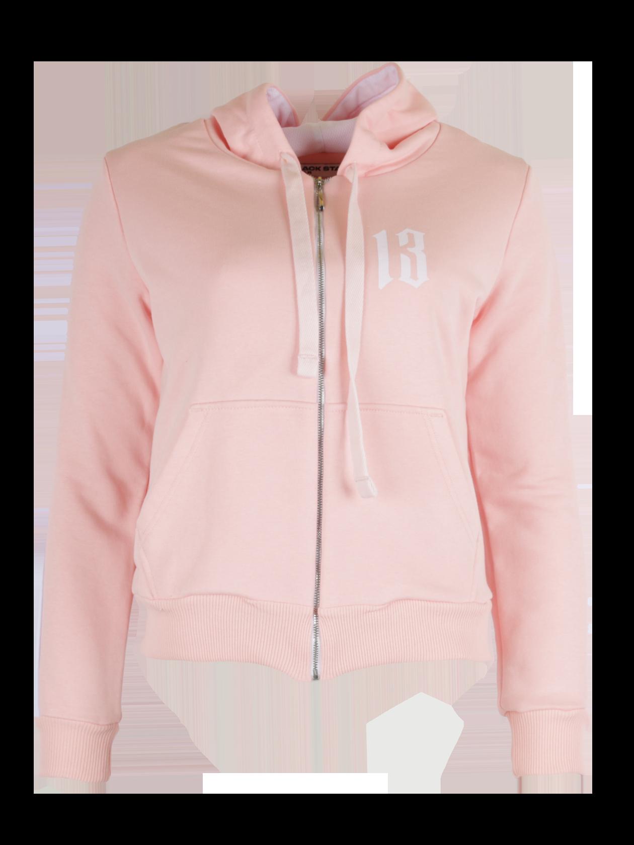 Костюм спортивный женский BS STRIPEКостюм спортивный женский BS Stripe – неотъемлемый атрибут гардероба активной девушки. Модель традиционного кроя представлена в бледно-розовой расцветке. Верх выполнен в виде толстовки с длинным рукавом, капюшоном, металлической застежкой на молнии. Манжеты и низ оформлены широкой резинкой в тон к изделию. С фронтальной стороны оформлены накладные карманы. Брюки прямого силуэта с эластичным голенищем и поясом. Комплект изготовлен из высококачественного футера, обладающего высокой практичностью.<br><br>Размер: M<br>Цвет: Розовый<br>Пол: Женский
