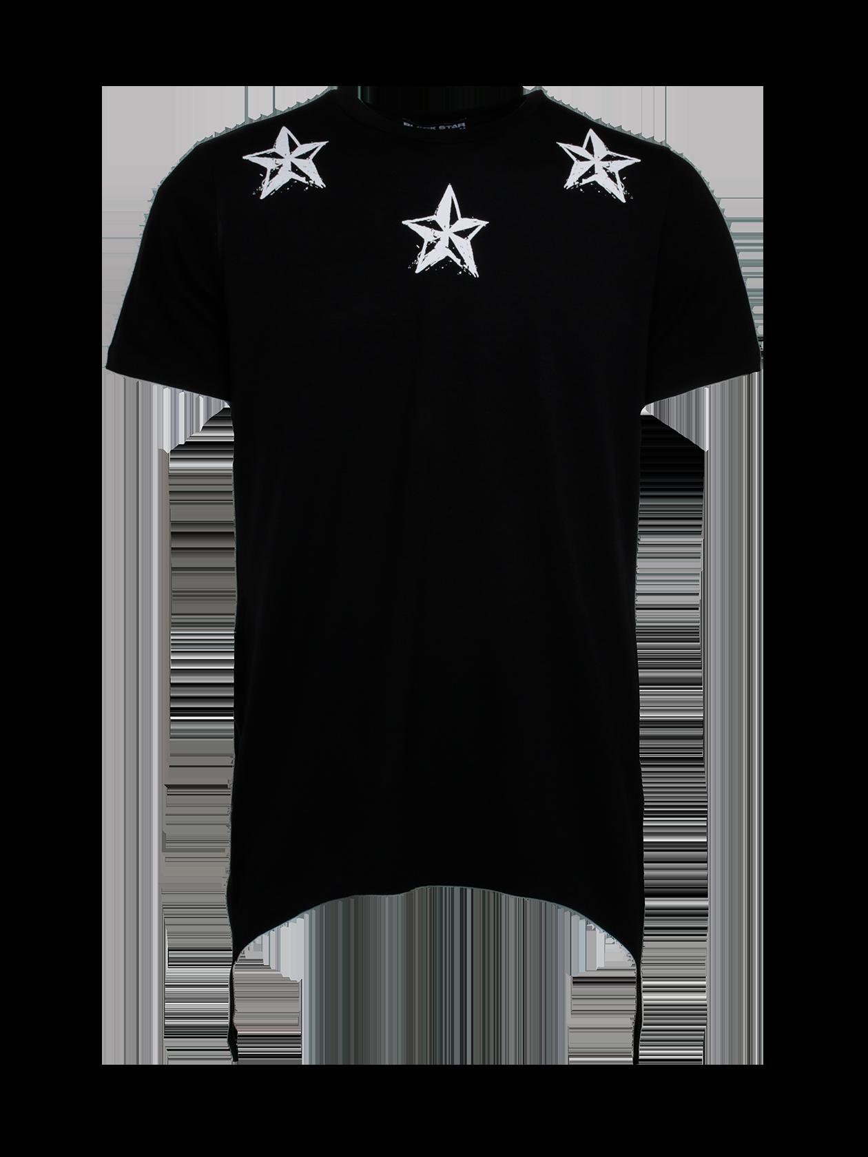 Футболка мужская REGULARМужская футболка из новой коллекции Black Star Wear. Стильная, практичная и очень качественная модель свободного кроя с коротким рукавом, а так же уникальным дизайнерским рисунком на груди в стилеBlack Star. Изделие выполнено из натурального хлопка премиального качества, что обеспечит безупречный комфорт. Низ дополняет ультрамодное дизайнерское решение в виде черных широких молний по бокам. Идеально дополнит стильный мужской образ на каждый день. Несомненно станет незаменимой и любимой вещью в гардеробе. Модель доступна в сером и белом цветах.<br><br>Размер: M<br>Цвет: Черный<br>Пол: Мужской