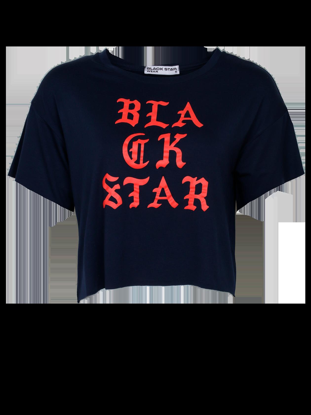 Футболка женская GOTHICСтильная женская футболка GOTHIC из новой коллекции Black Star. Изделие выполнено из хлопка премиального качества, внутри фирменная нашивка с логотипом Black Star Wear. Классический дизайн с круглой горловиной и свободный укороченный крой, являющийся трендом этого сезона не оставит равнодушной ни одну модницу. Подойдет как для создания образа на каждый день, так и для занятий спортом. Станет незаменимой и любимой вещью в гардеробе! Модель представлена в ярко-красном цвете.<br><br>Размер: M<br>Цвет: Темно-синий<br>Пол: Женский
