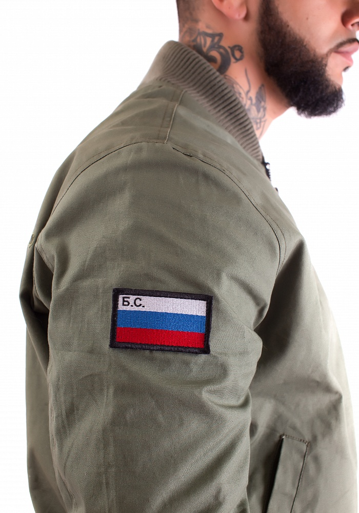 Куртка-бомбер мужская Патриот от Black Star