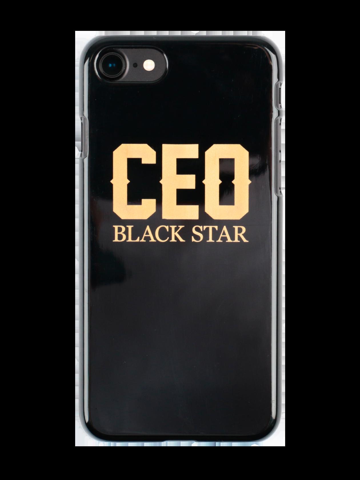 Чехол для телефона ROYALTY CEOЧехол для телефона Ceo Royalty – прочный аксессуар, изготовленный из пластика. Легкая модель не изменяет размеры мобильного устройства, надежно удерживая его с внутренней стороны. Отверстия полностью соответствуют разъемам и функциям управления, поэтому при использовании не нужно снимать каждый раз чехол. Изделие выполнено в черном цвете, декорировано стильной контрастной надписью «Ceo Black Star». Идеальное решение для предотвращения преждевременного износа девайса.<br><br>Размер: 5<br>Цвет: Черный<br>Пол: Унисекс