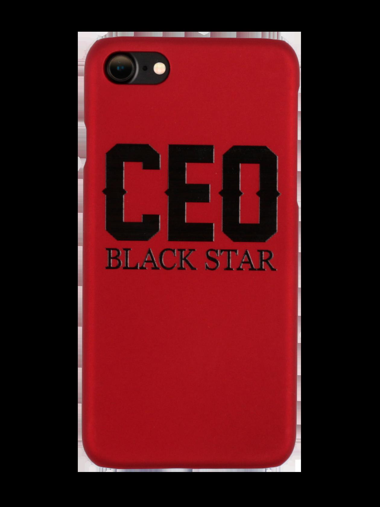 Чехол для телефона ROYALTY CEOЧехол для телефона Ceo Royalty – прочный аксессуар, изготовленный из пластика. Легкая модель не изменяет размеры мобильного устройства, надежно удерживая его с внутренней стороны. Отверстия полностью соответствуют разъемам и функциям управления, поэтому при использовании не нужно снимать каждый раз чехол. Изделие выполнено в черном цвете, декорировано стильной контрастной надписью «Ceo Black Star». Идеальное решение для предотвращения преждевременного износа девайса.<br><br>Размер: 6<br>Цвет: Красный<br>Пол: Унисекс