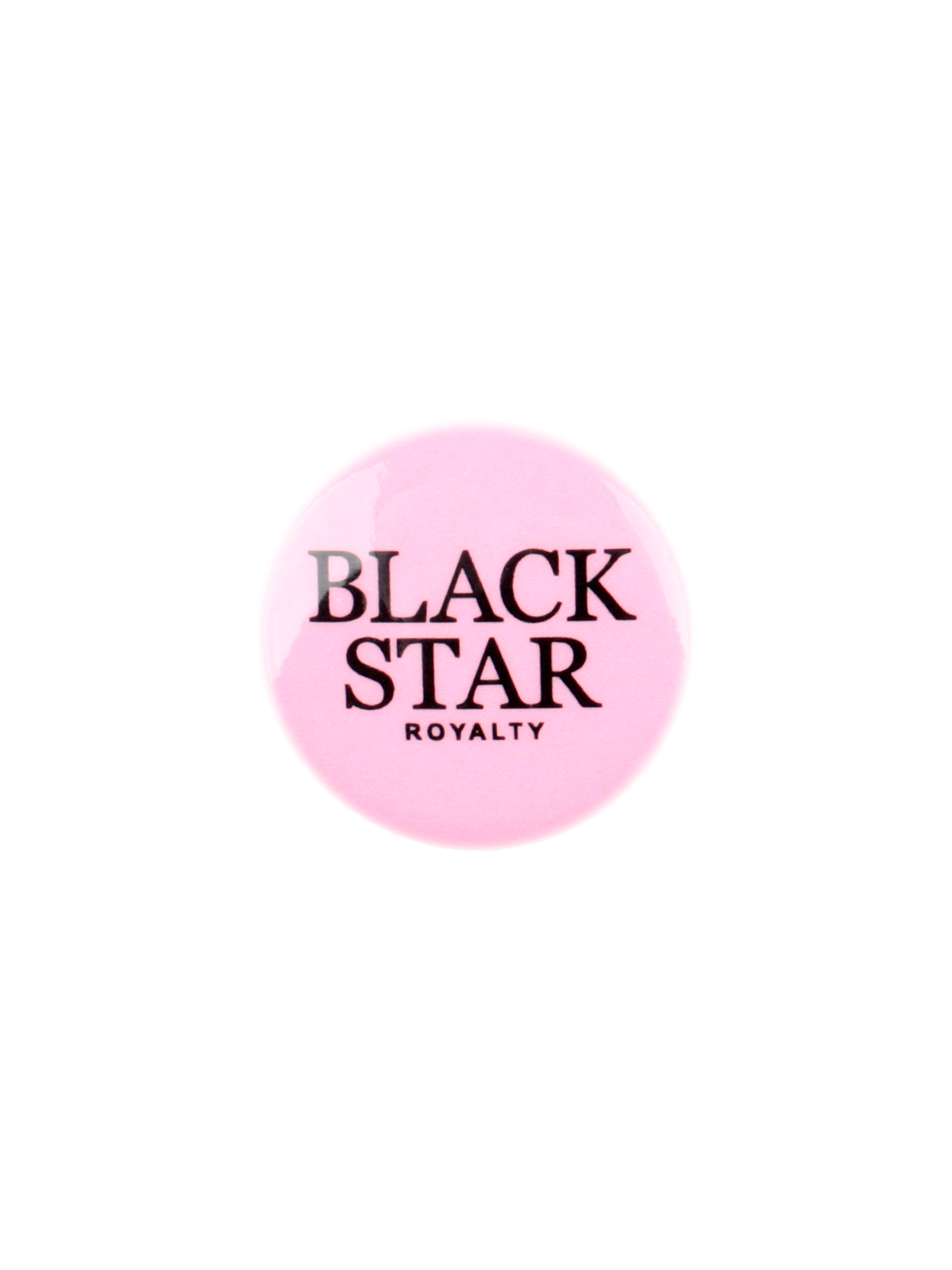 Значок ROYALTY BLACK STAR, Pink