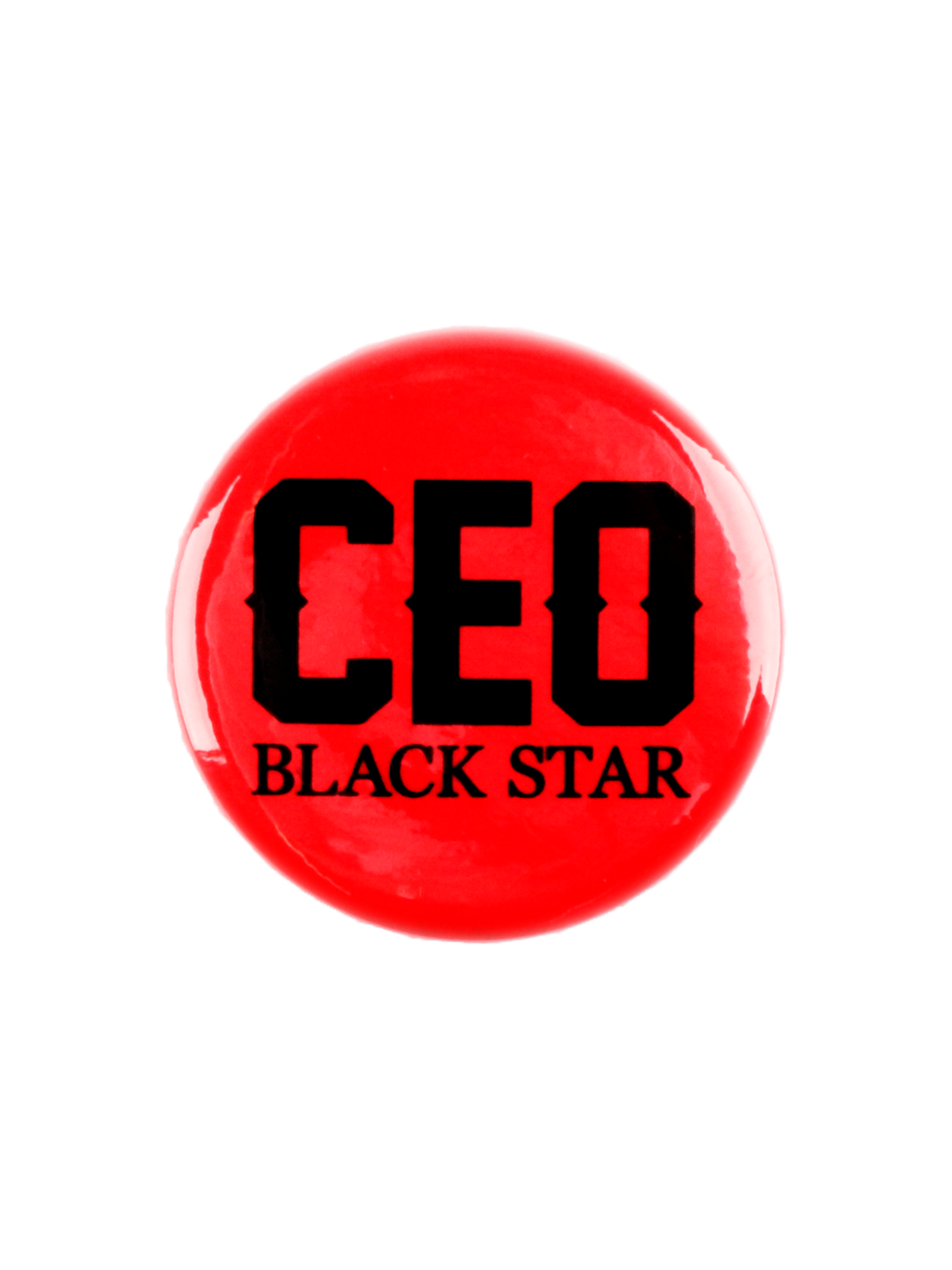 Значок ROYALTY СEOЗначок Royalty Ceo от Black Star Wear – оригинальный аксессуар для индивидуализации своего лука. Изделие традиционной круглой формы с глянцевой поверхностью. В качестве застежки выступает удобная и надежная английская булавка. Модель изготовлена из прочного материала черного цвета, декорирована надписью «Ceo Black Star». Подходит к одежде спортивного и повседневного стиля.<br><br>Размер: Единый размер<br>Цвет: Красный<br>Пол: Унисекс