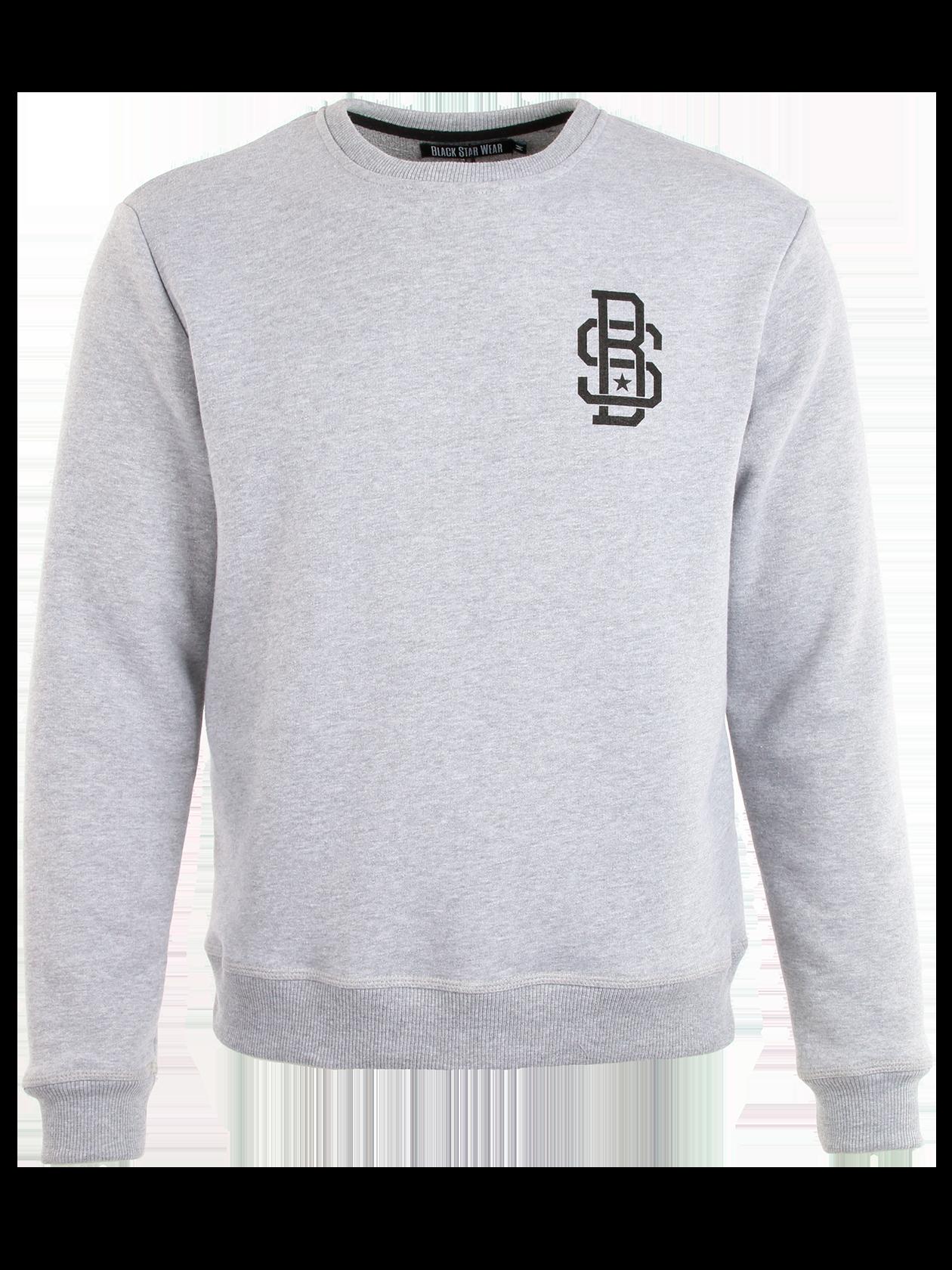 Купить Костюм спортивный мужской 13 от Black Star Wear цвета серый меланж