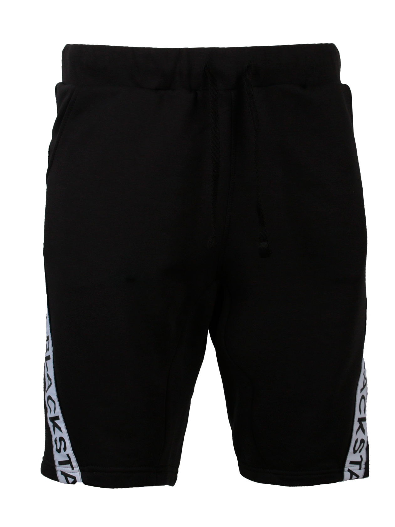 Шорты мужские BASE BSШорты мужские Base BS из коллекции Black Star – стильная и практичная вещь для спорта и отдыха. Удобный прямой свободный крой сохранит естественность движений и создаст комфорт при носке. Модель выполнена из натурального хлопкового материала, представлена в черном цвете. Дизайн дополнен внутренними боковыми карманами и серыми полосками с надписью Black Star. Пояс на резинке и завязках хорошо фиксирует изделие, обеспечивая идеальную посадку по фигуре. Длина шорт – 3/4 бедра.<br><br>Размер: XS<br>Цвет: Черный<br>Пол: Мужской