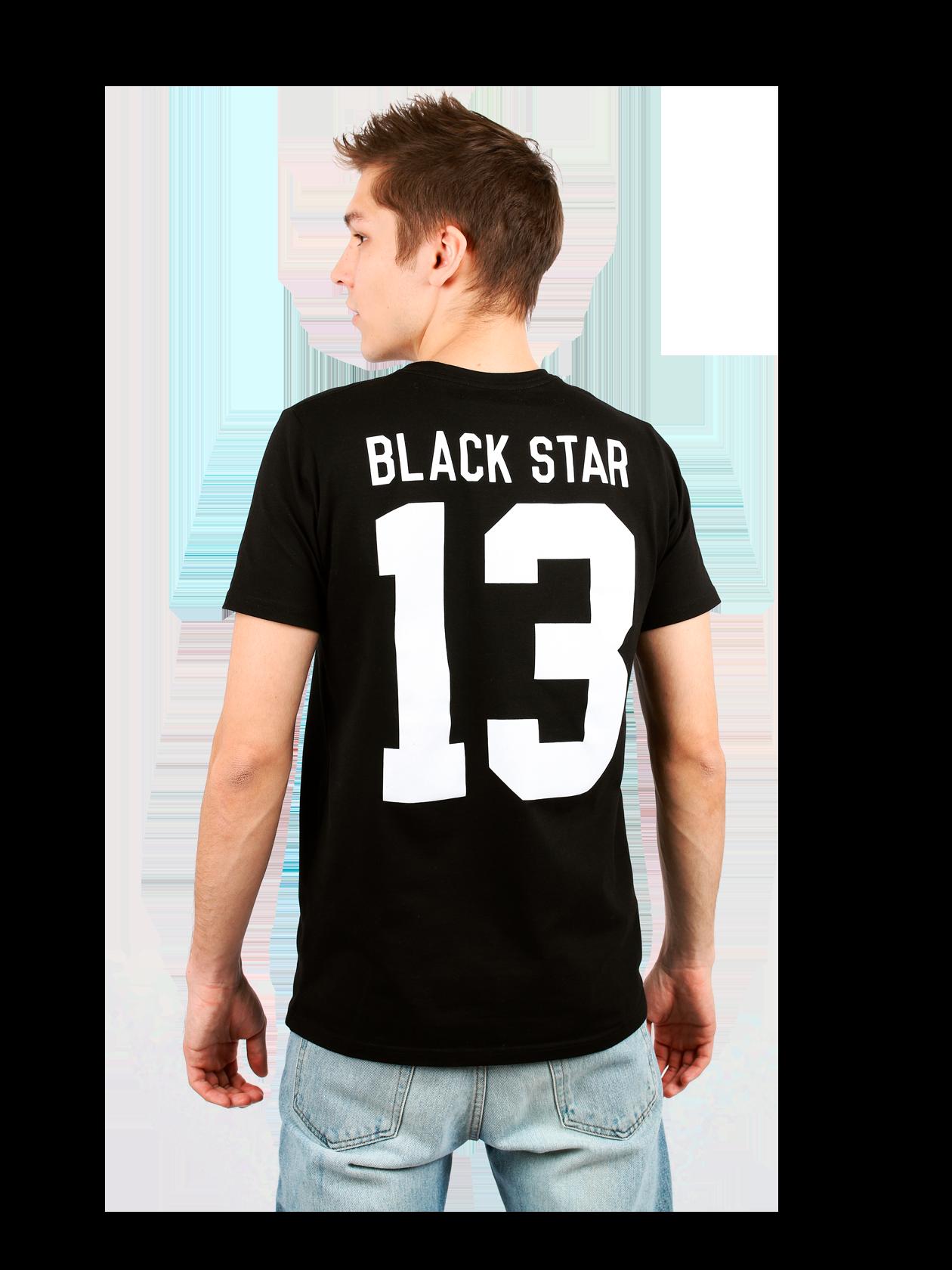 Mens t-shirt BLACK STAR 13 от BlackStarWear INT