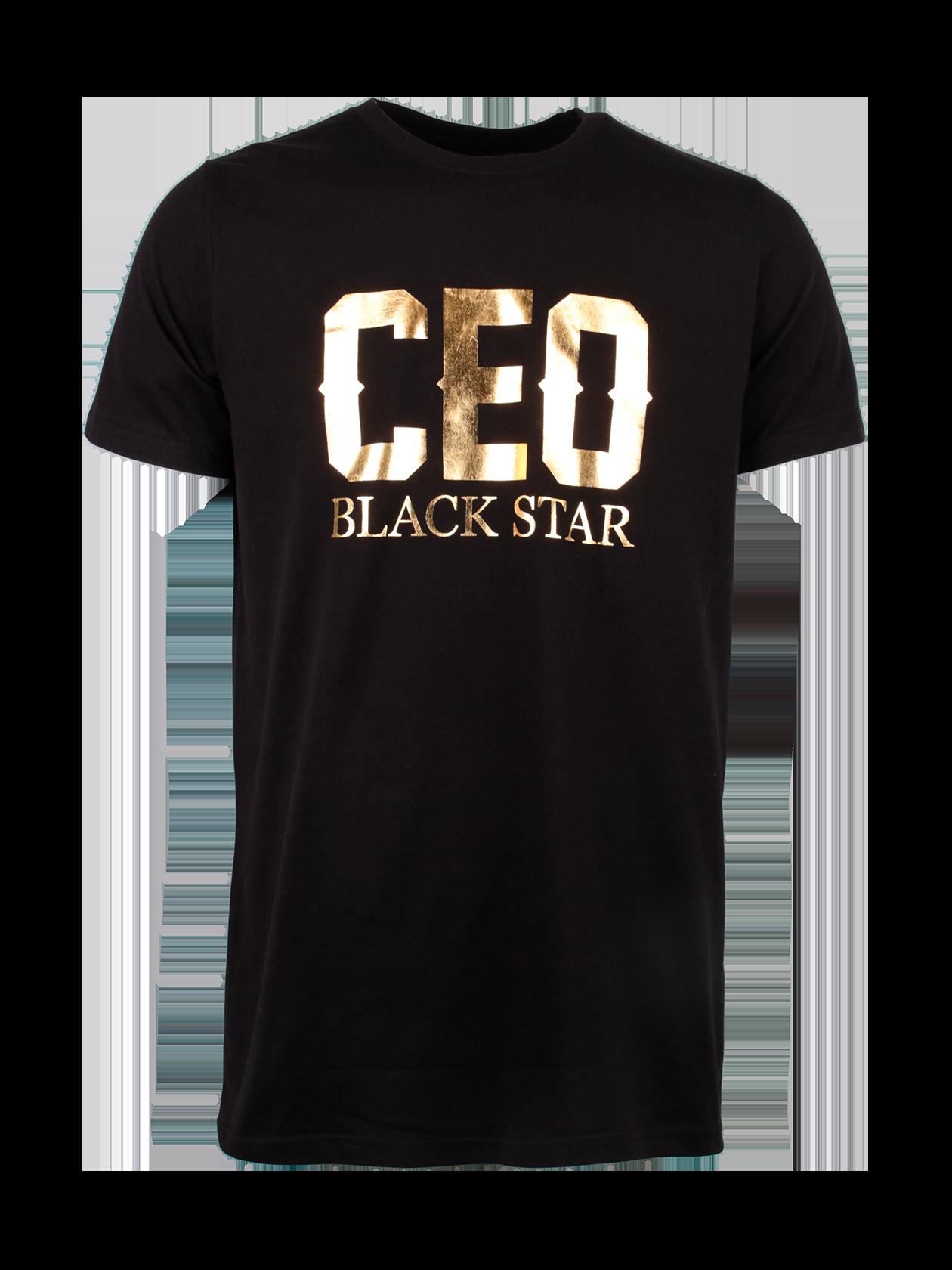 Футболка унисекс CEO ROYALTYФутболка унисекс Ceo Royalty от бренда Black Star Wear – достойный выбор для активных молодых людей. Изделие классического дизайна, слегка удлиненной формы, прямого полусвободного силуэта. Базовые черная и белая расцветки актуальны в любом сезоне и подходят под любую одежду и обувь. Модель создана из натурального хлопка класса «люкс», отличается износостойкостью, приятна к телу. Футболка декорирована голографической золотой надписью «Ceo Black Star» на груди на черном варианте и черными буквами на белом. Незаменимая вещь для спорта и отдыха.<br><br>Размер: L<br>Цвет: Черный<br>Пол: Мужской