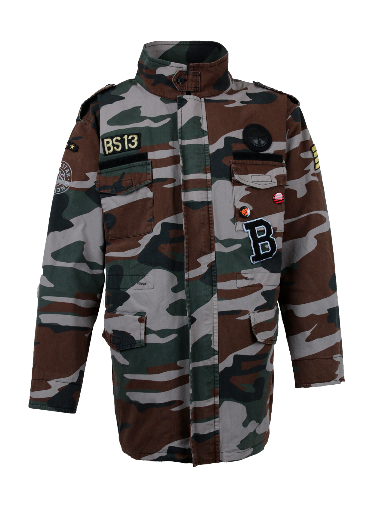 Mens jacket PROPERTY OF RUSSIA<br><br>size: XL<br>color: Camouflage<br>gender: male