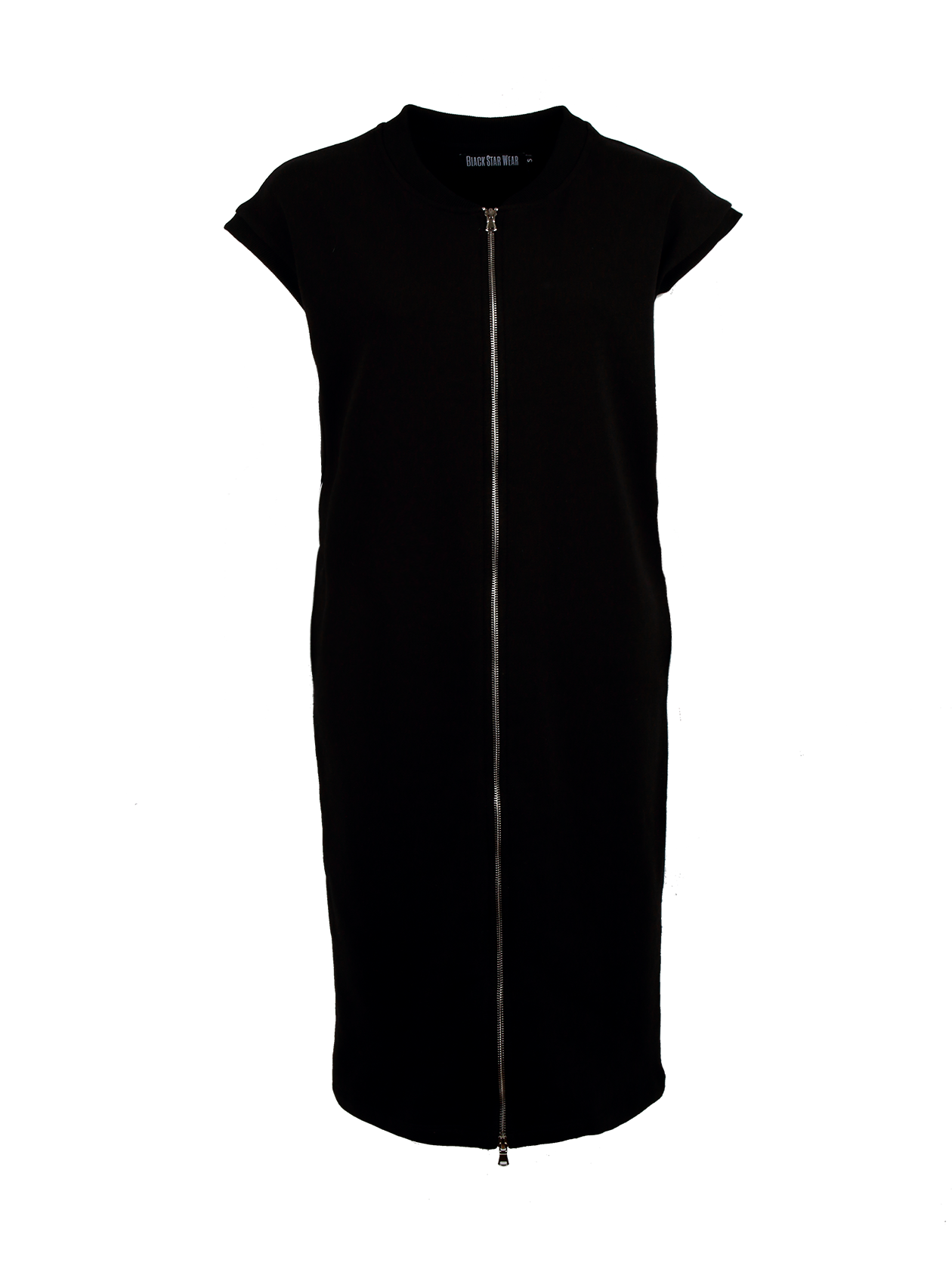 Платье-бомбер женское BASIC VEST