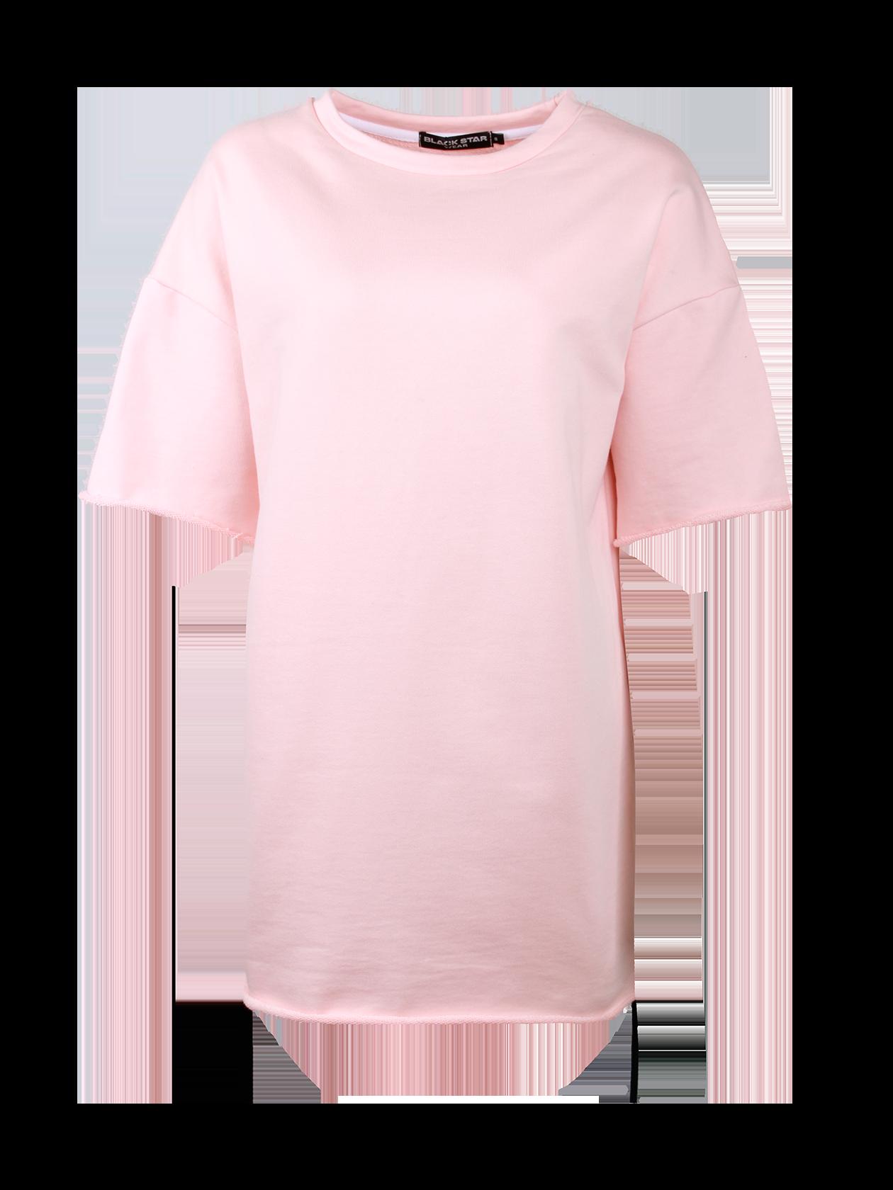 Платье женское HOT SUMMERЭффектное платье женское Hot Summer от бренда Black Star Wear поможет заметно выделиться из толпы. Опущенная линия плеча переходит в широкий рукав длиной до локтя. Крой изделия прямой с оптимальной свободой прилегания. Горловина среднего размера глубины содержит жаккардовую нашивку Black Star Wear. Необычная фишка вещи – спина, состоящая из двух частей, соединенных между собой крупной черной шнуровкой. Платье изготовлено из премиального хлопка, представлено в бледно-розовой и белой расцветке.<br><br>Размер: M<br>Цвет: Розовый<br>Пол: Женский