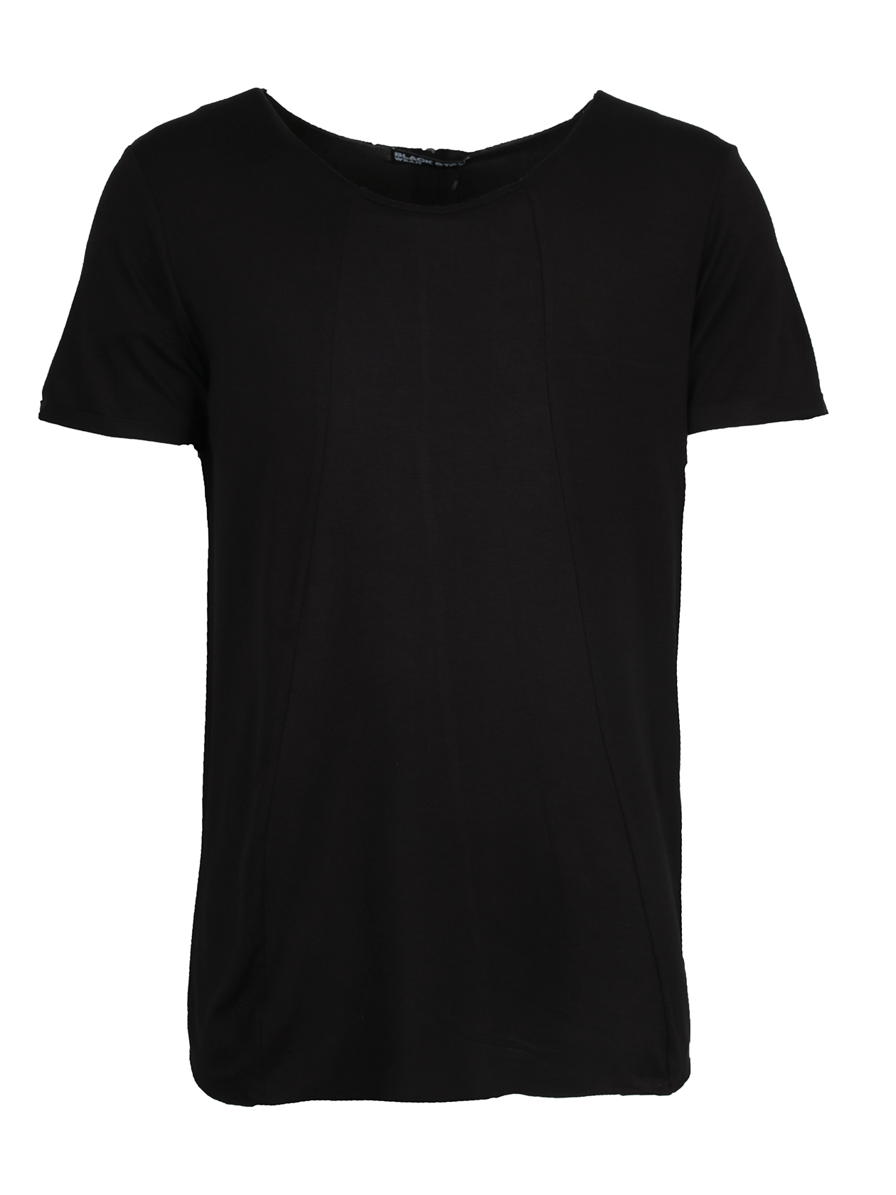 Футболка унисекс ZIPPER BLACK<br><br>Размер: L<br>Цвет: Черный<br>Пол: Женский
