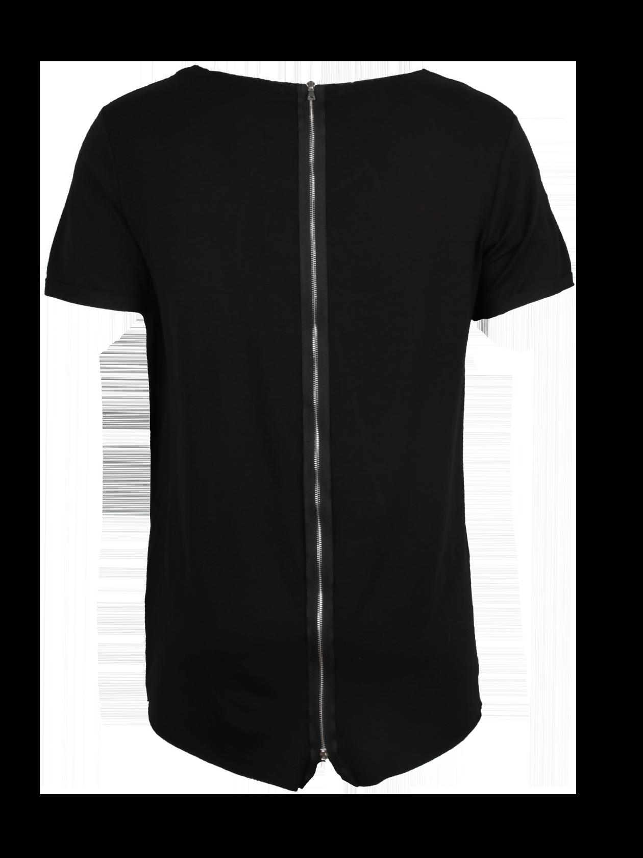 Футболка унисекс ZIPPER BLACKАктуальная в любом сезоне футболка Zipper Black – стильное дополнение любого лука спортивного и повседневного направления. Модель свободного прямого кроя с закругленной спинкой. Небольшой рукав, горловина с широким вырезом, внутри имеется фирменная нашивка с логотипом Black Star Wear. Декоративный элемент – вертикальная застежка молния черного цвета, оформленная по центру спины. Футболка сшита из высококачественного натурального хлопка, приятного к телу. В наличии две расцветки: черная и серый меланж.&amp;nbsp;<br><br>Размер: S<br>Цвет: Черный<br>Пол: Женский