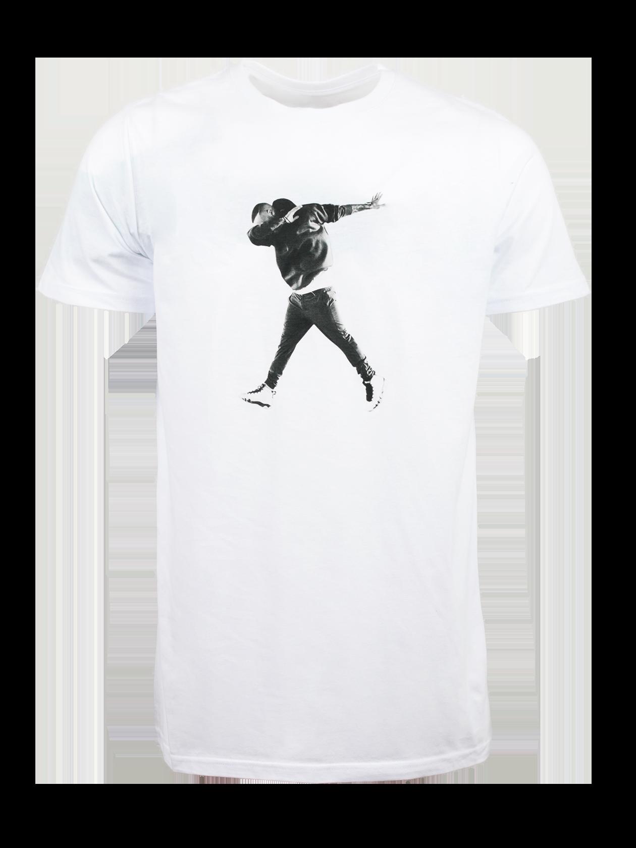 Футболка унисекс LONEВ мерче популярного артиста L`one Гравитация представлена стильная футболка унисекс L`one. Модель базового белого цвета, лаконичного дизайна идеально впишется в гардероб активных молодых людей. Крой прямой, полусвободный, с удлиненной формой низа. Круглая неглубокая горловина содержит фирменный лейбл бренда Black Star Wear с внутренней стороны. Оригинальная деталь – принт с изображением L`one спереди. Футболка изготовлена из люксового хлопка, выделяется практичностью и комфортностью.<br><br>Размер: XL<br>Цвет: Белый<br>Пол: Мужской