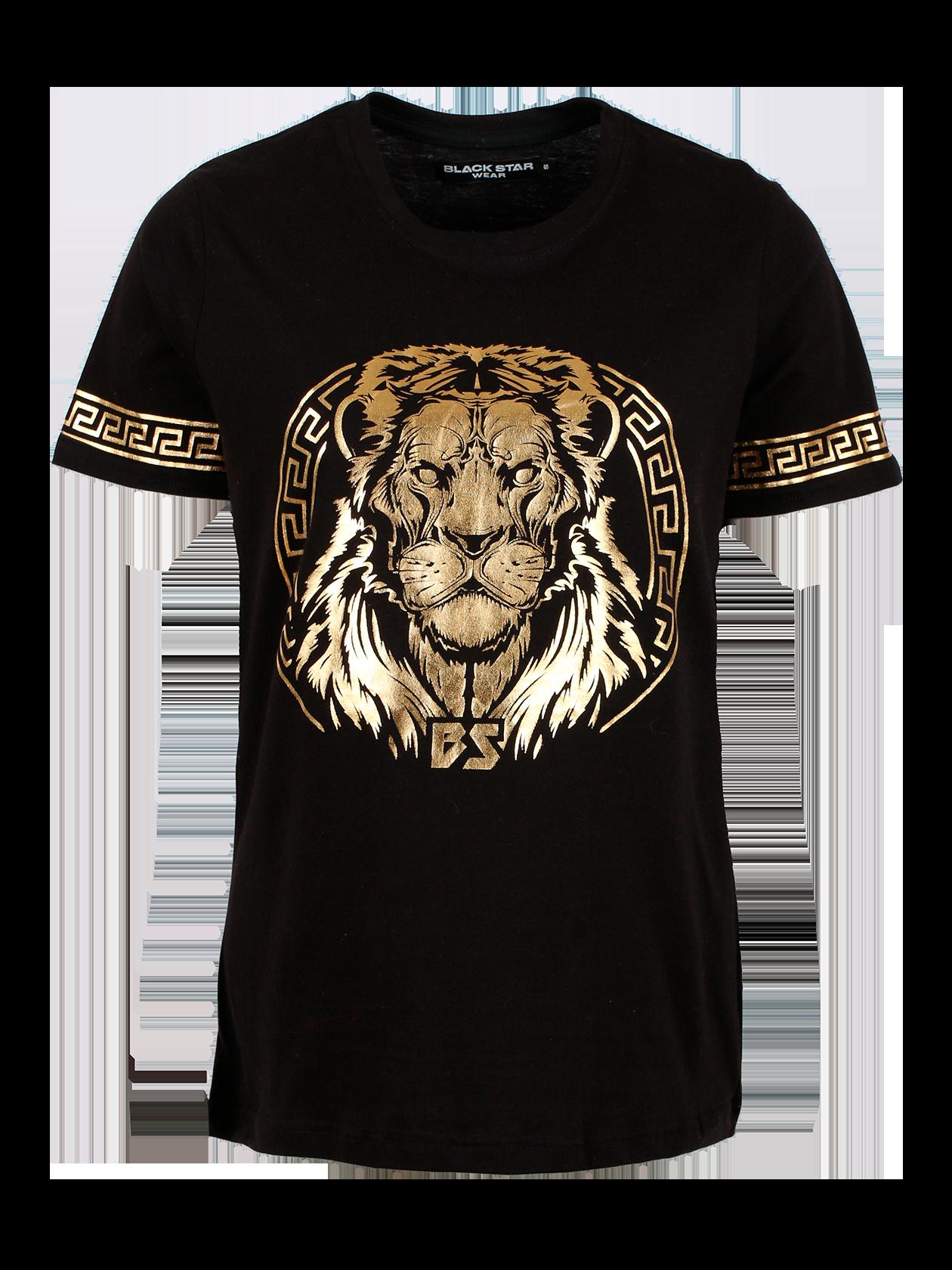 Футболка подростковая GOLD LION от Black Star